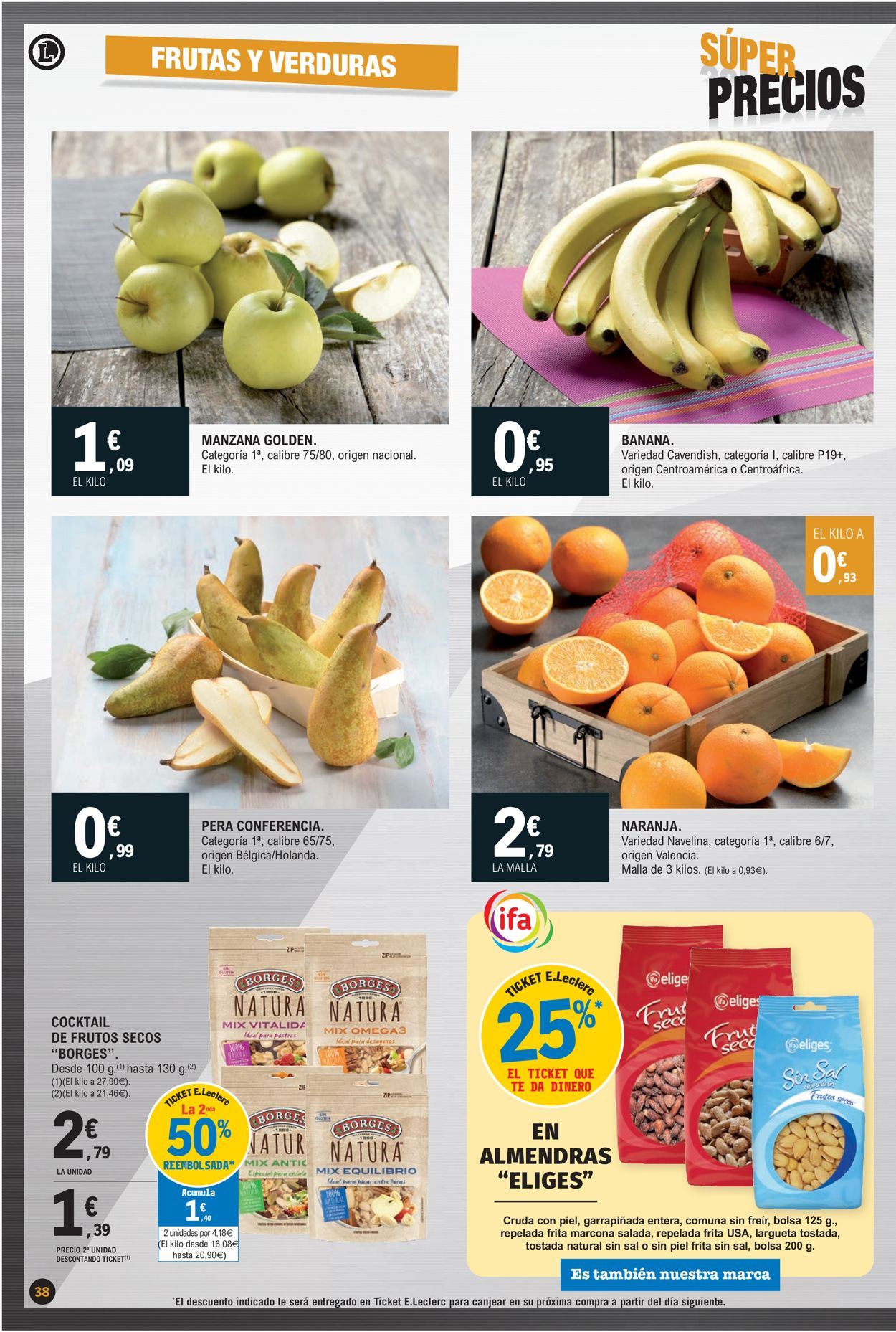 E.leclerc Súper Precios 2021 Folleto - 07.01-17.01.2021 (Página 38)