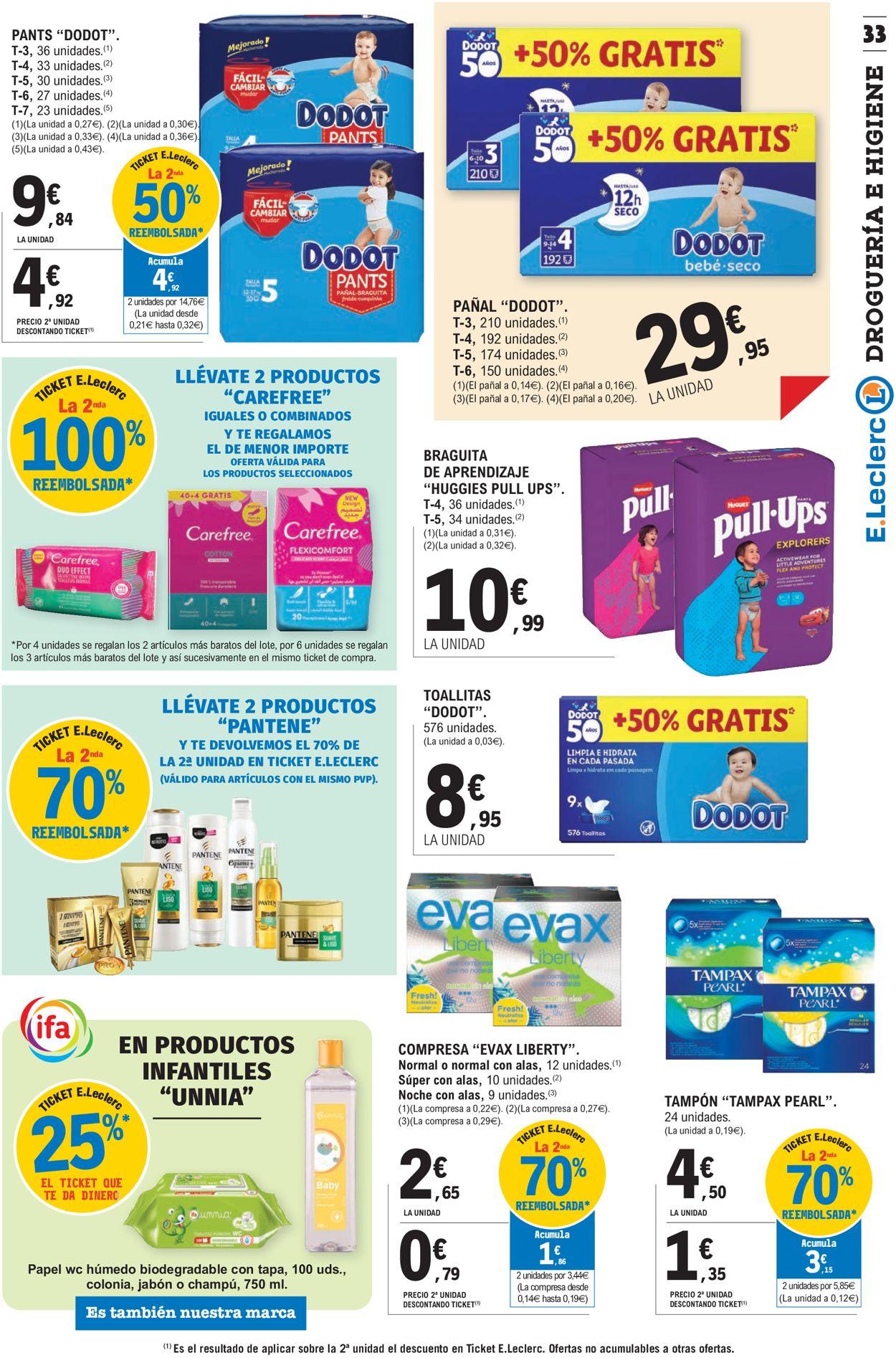 E.leclerc Folleto - 20.01-31.01.2021 (Página 33)