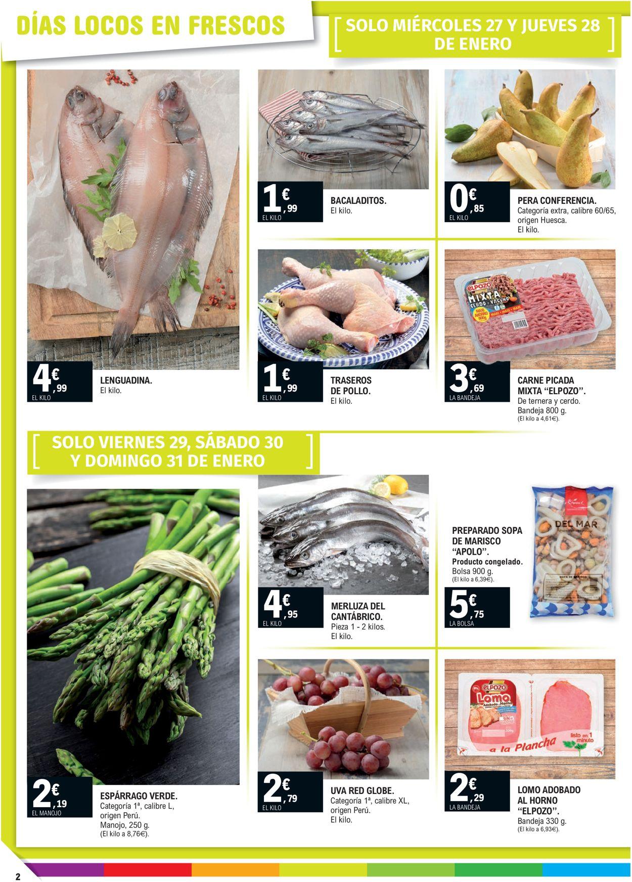 E.leclerc Calidad a precios bajos 2021 Folleto - 27.01-07.02.2021 (Página 2)