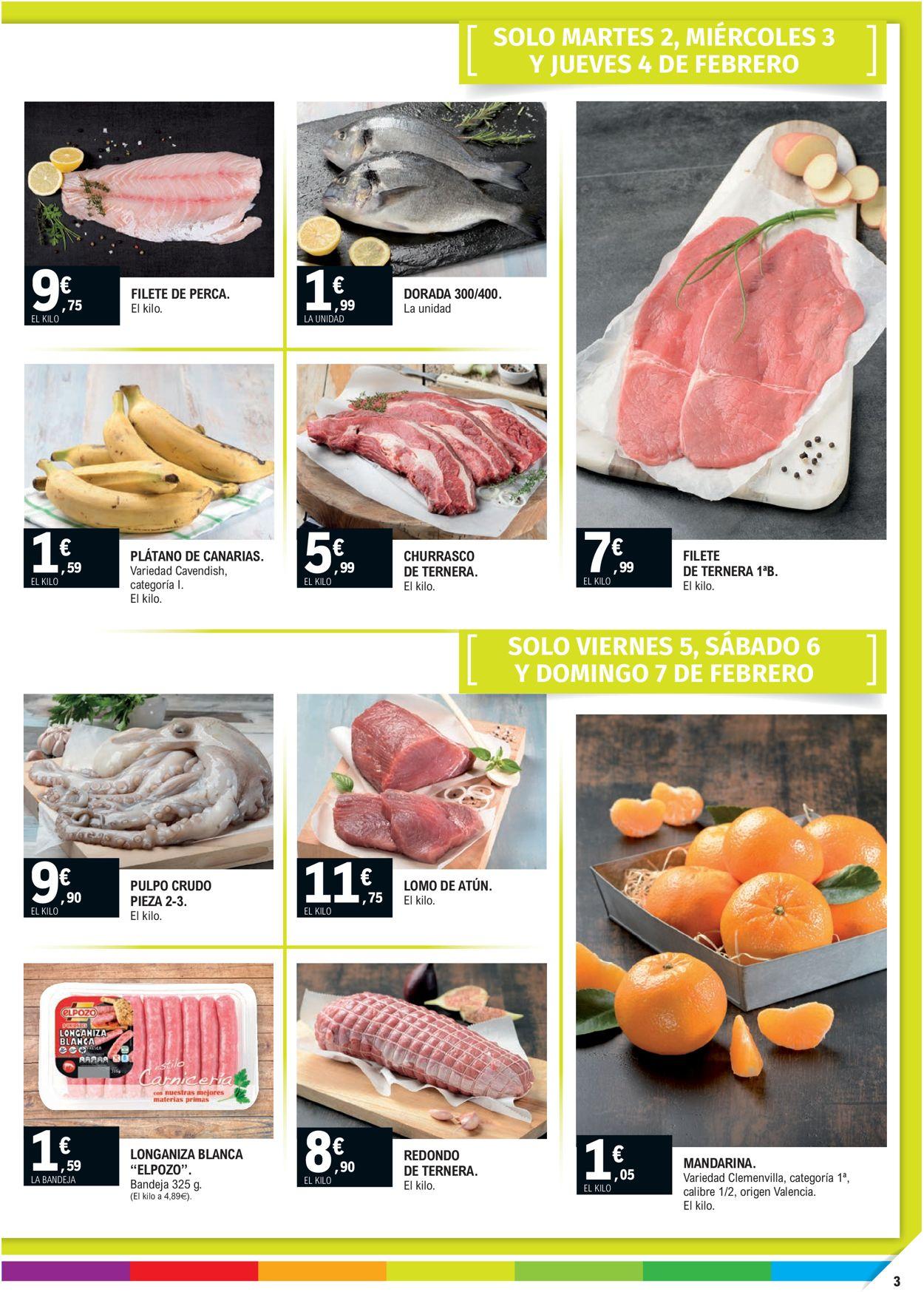 E.leclerc Calidad a precios bajos 2021 Folleto - 27.01-07.02.2021 (Página 3)