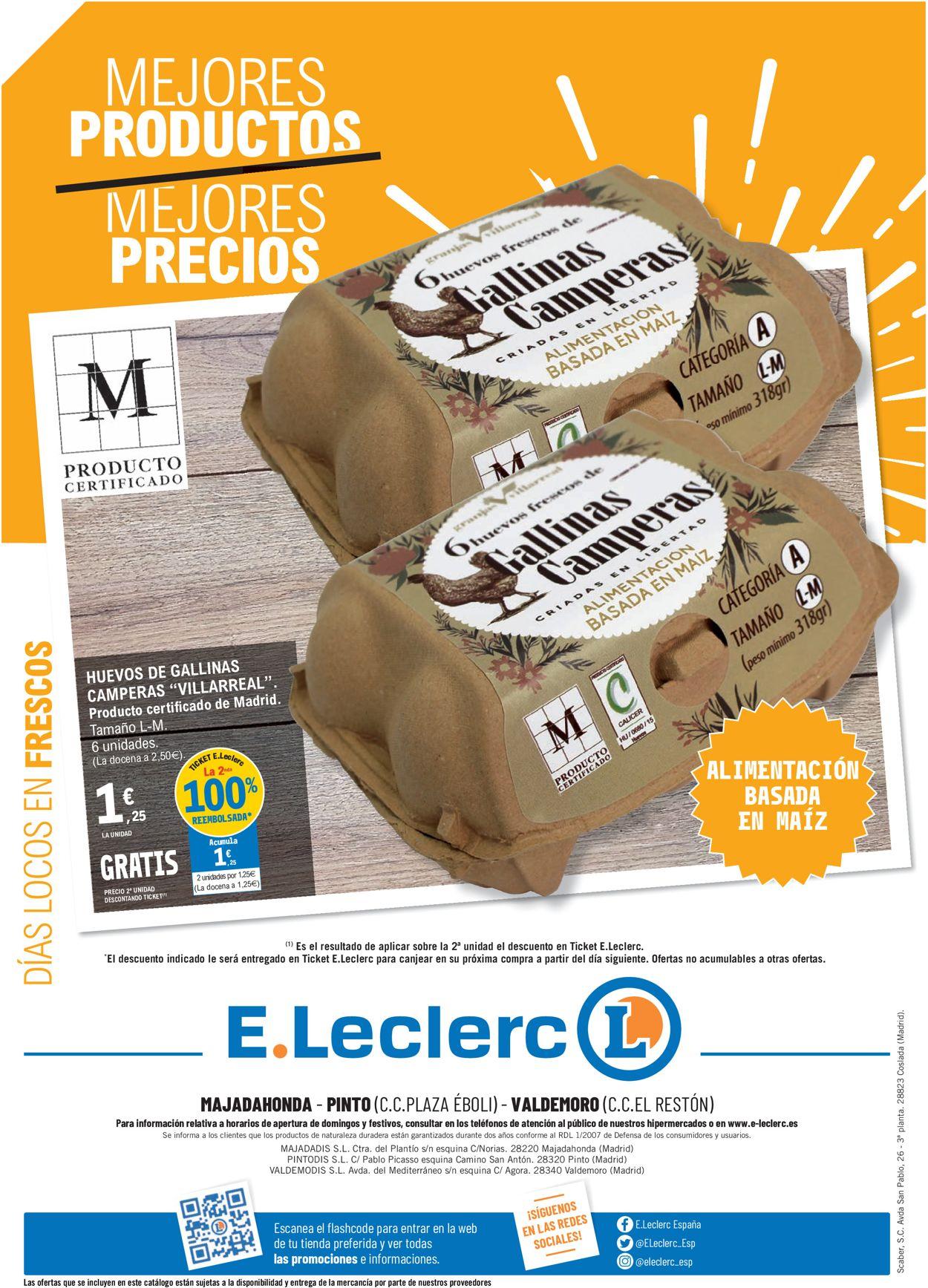 E.leclerc Dias locos en frescos Folleto - 24.02-07.03.2021 (Página 8)