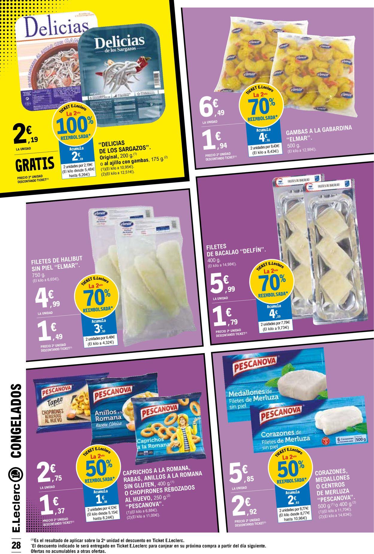 E.leclerc Folleto - 03.03-14.03.2021 (Página 28)