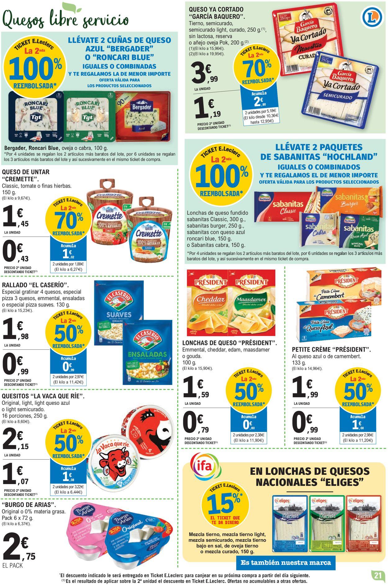 E.leclerc Folleto - 24.03-04.04.2021 (Página 21)
