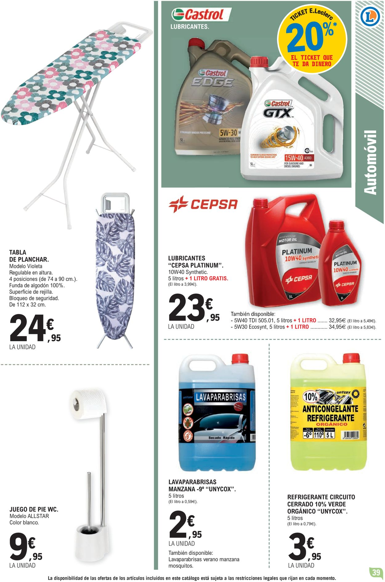 E.leclerc Folleto - 24.03-04.04.2021 (Página 39)