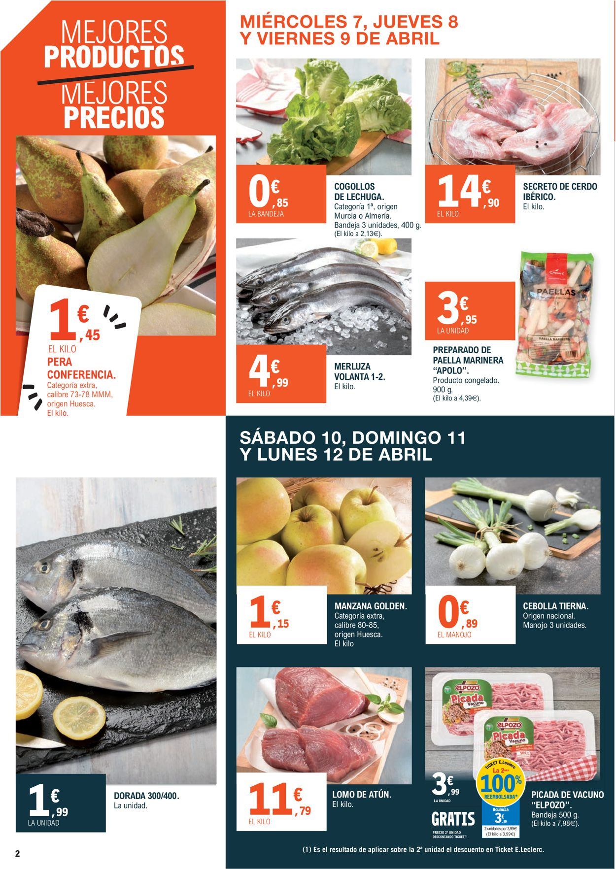 E.leclerc Folleto - 07.04-18.04.2021 (Página 2)