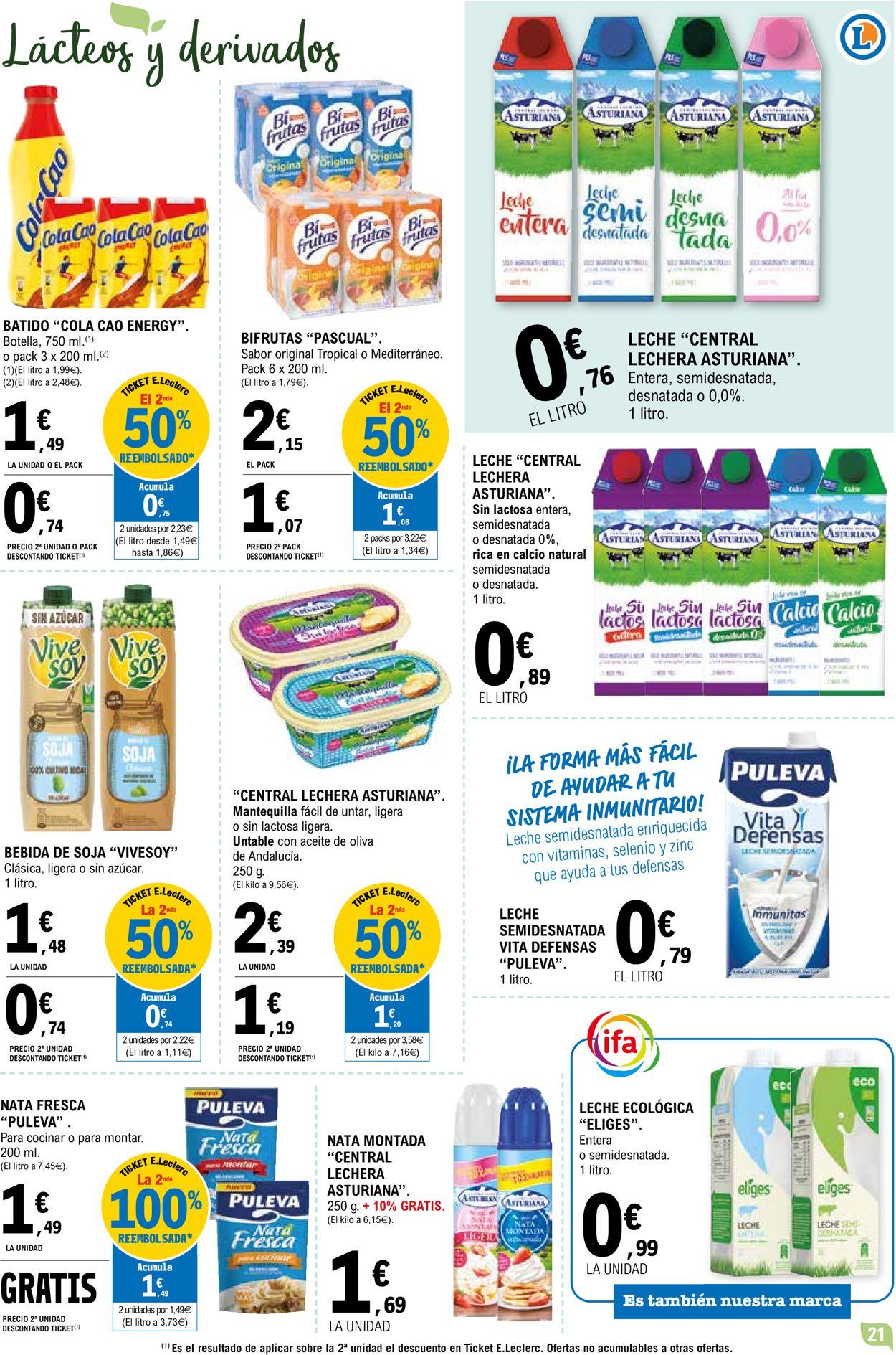 E.leclerc Folleto - 14.04-25.04.2021 (Página 21)