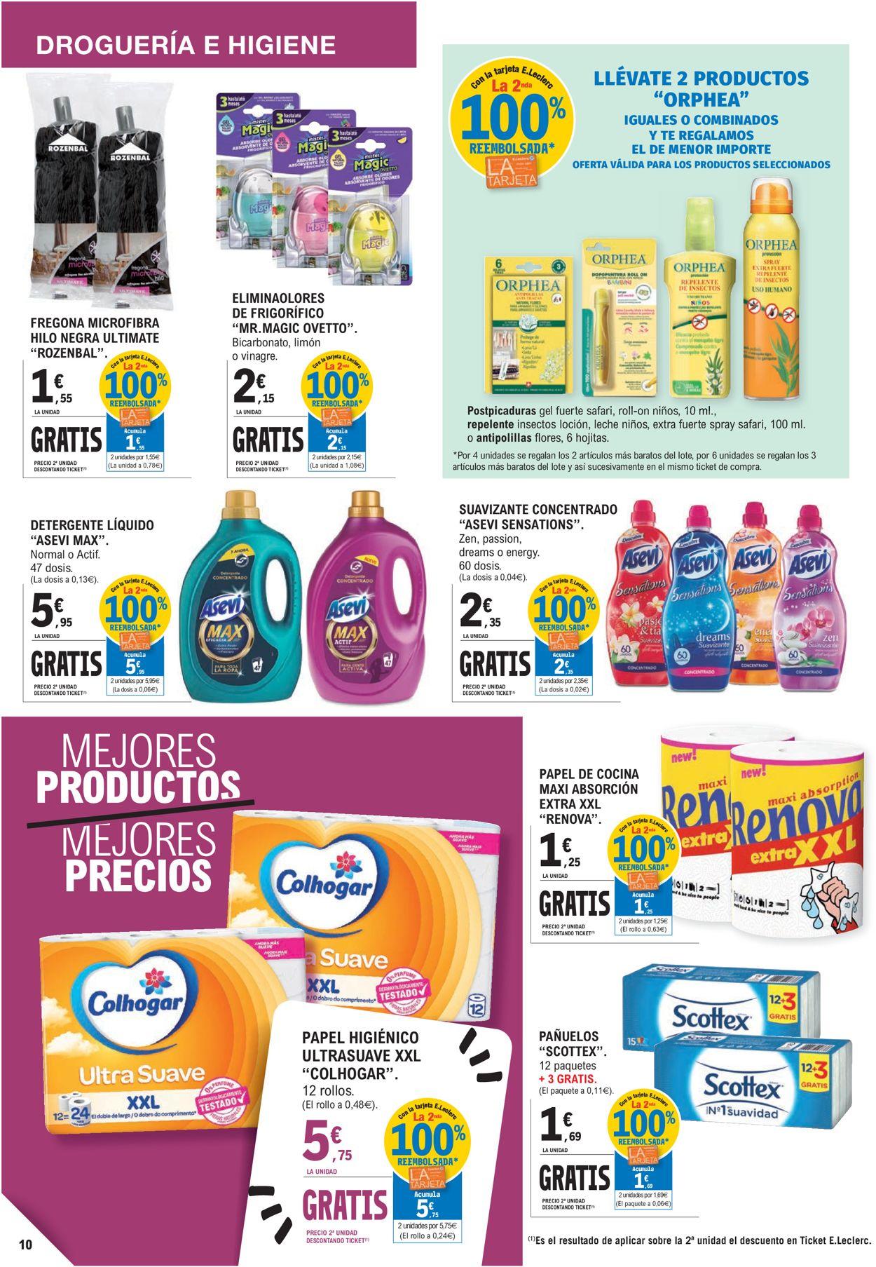 E.leclerc Folleto - 21.04-02.05.2021 (Página 10)