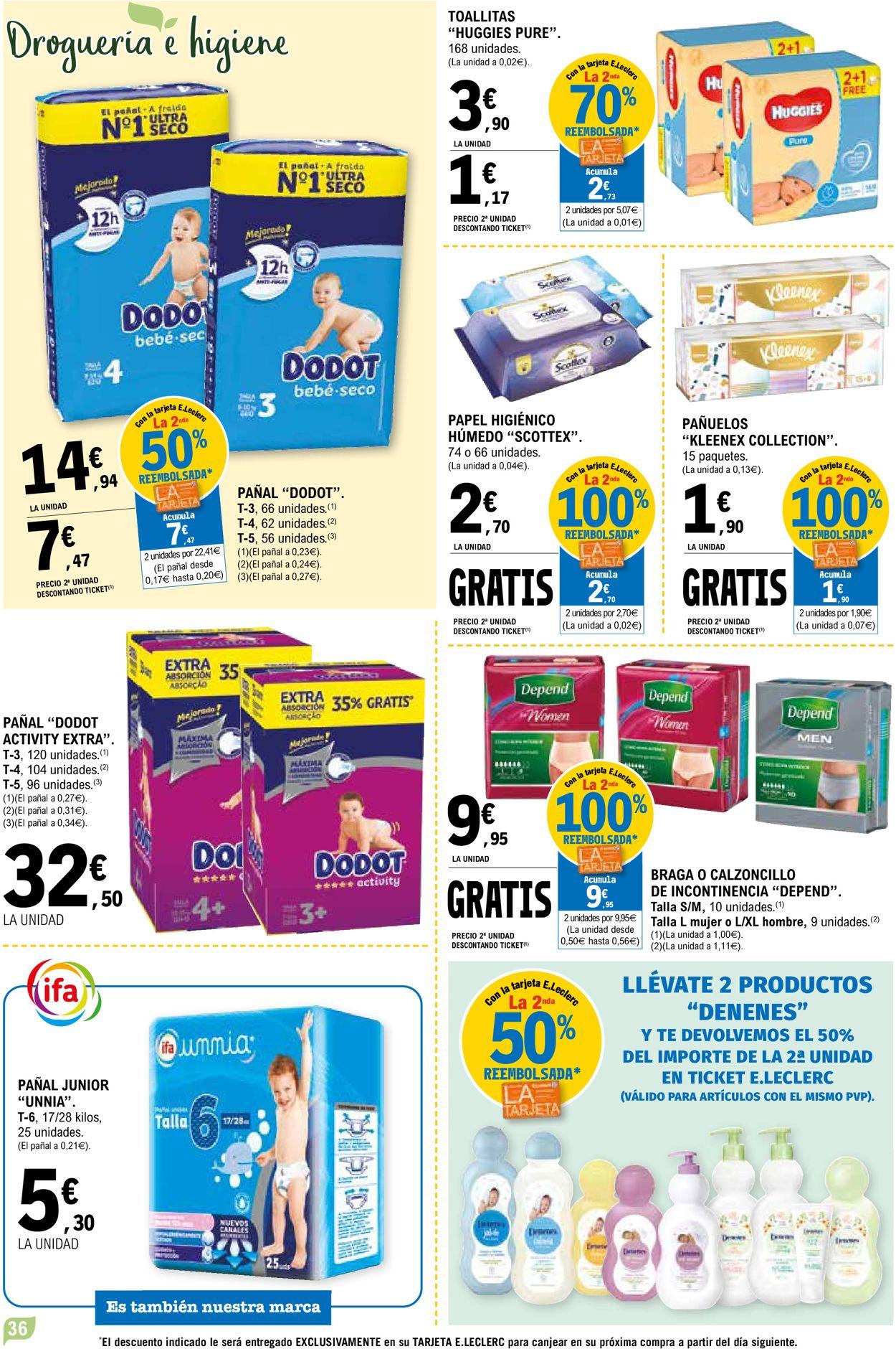 E.leclerc Folleto - 28.04-09.05.2021 (Página 36)
