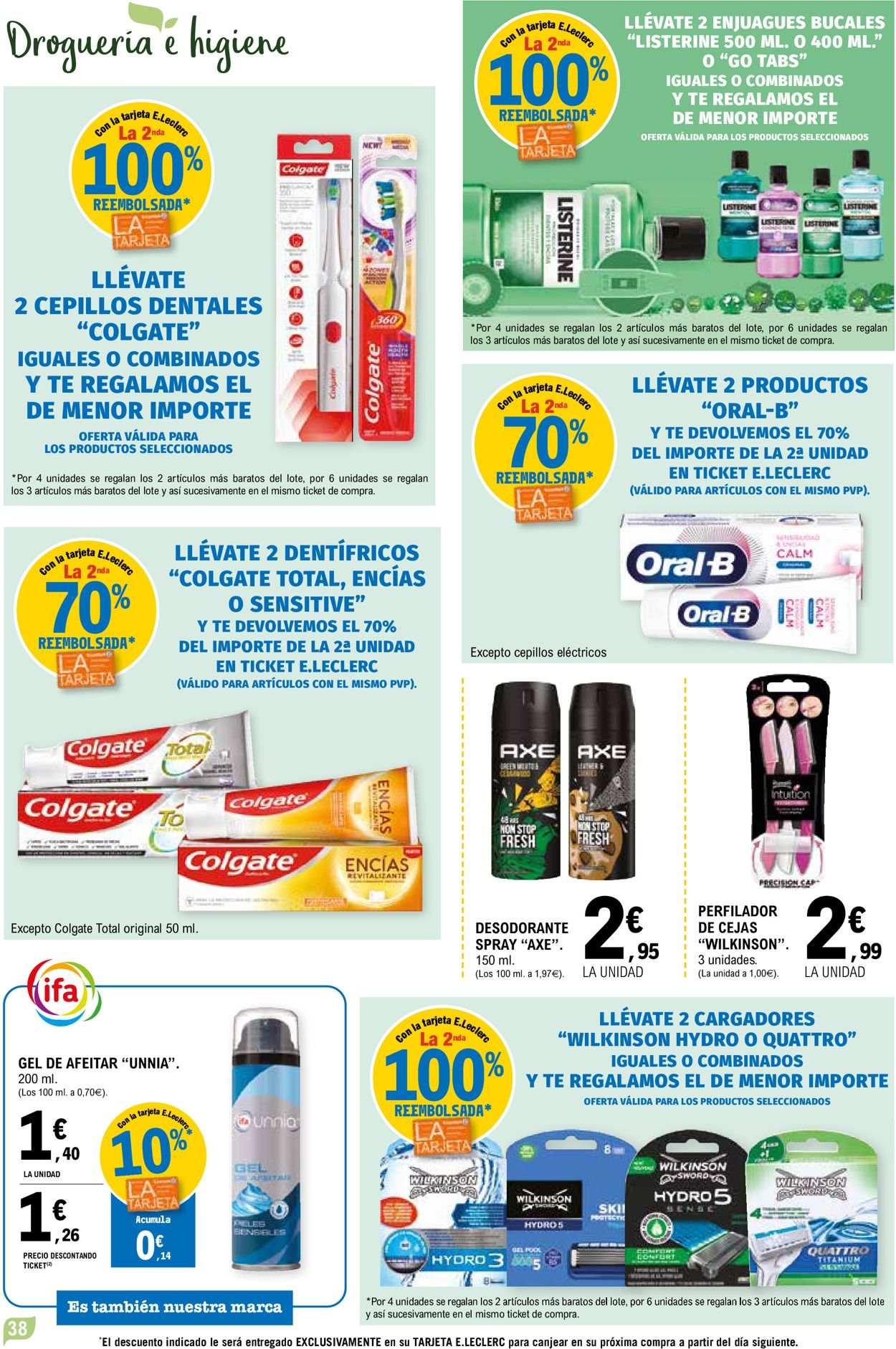 E.leclerc Folleto - 28.04-09.05.2021 (Página 38)