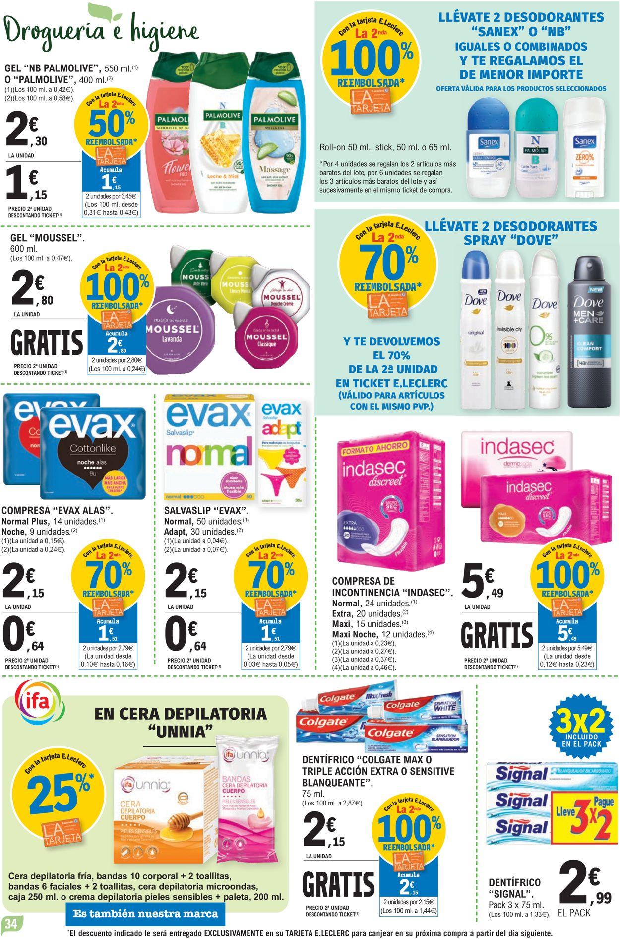 E.leclerc Folleto - 12.05-23.05.2021 (Página 34)