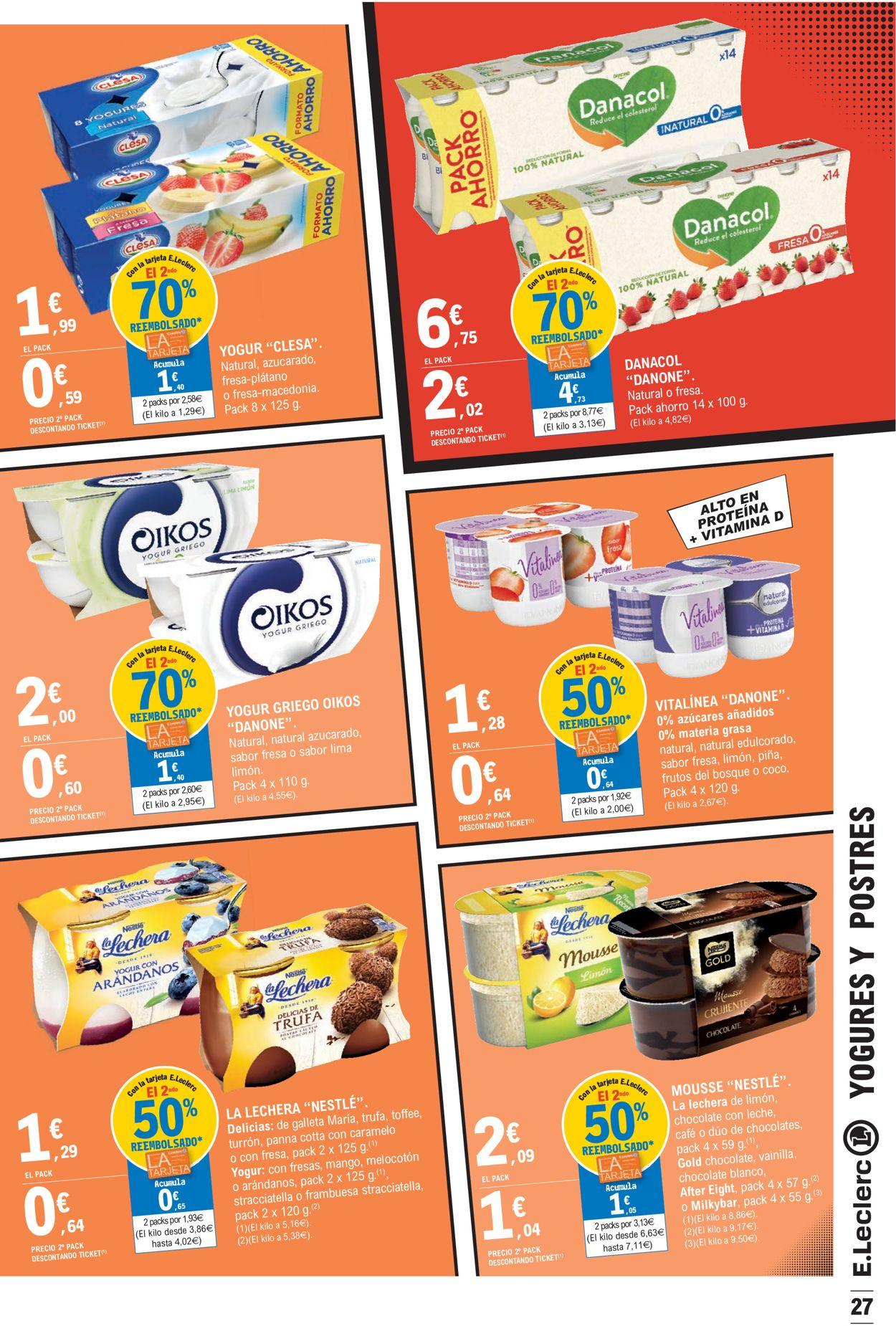 E.leclerc Folleto - 26.05-06.06.2021 (Página 27)