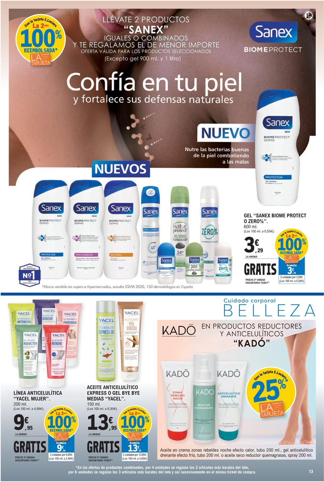 E.leclerc Folleto - 26.05-06.06.2021 (Página 13)