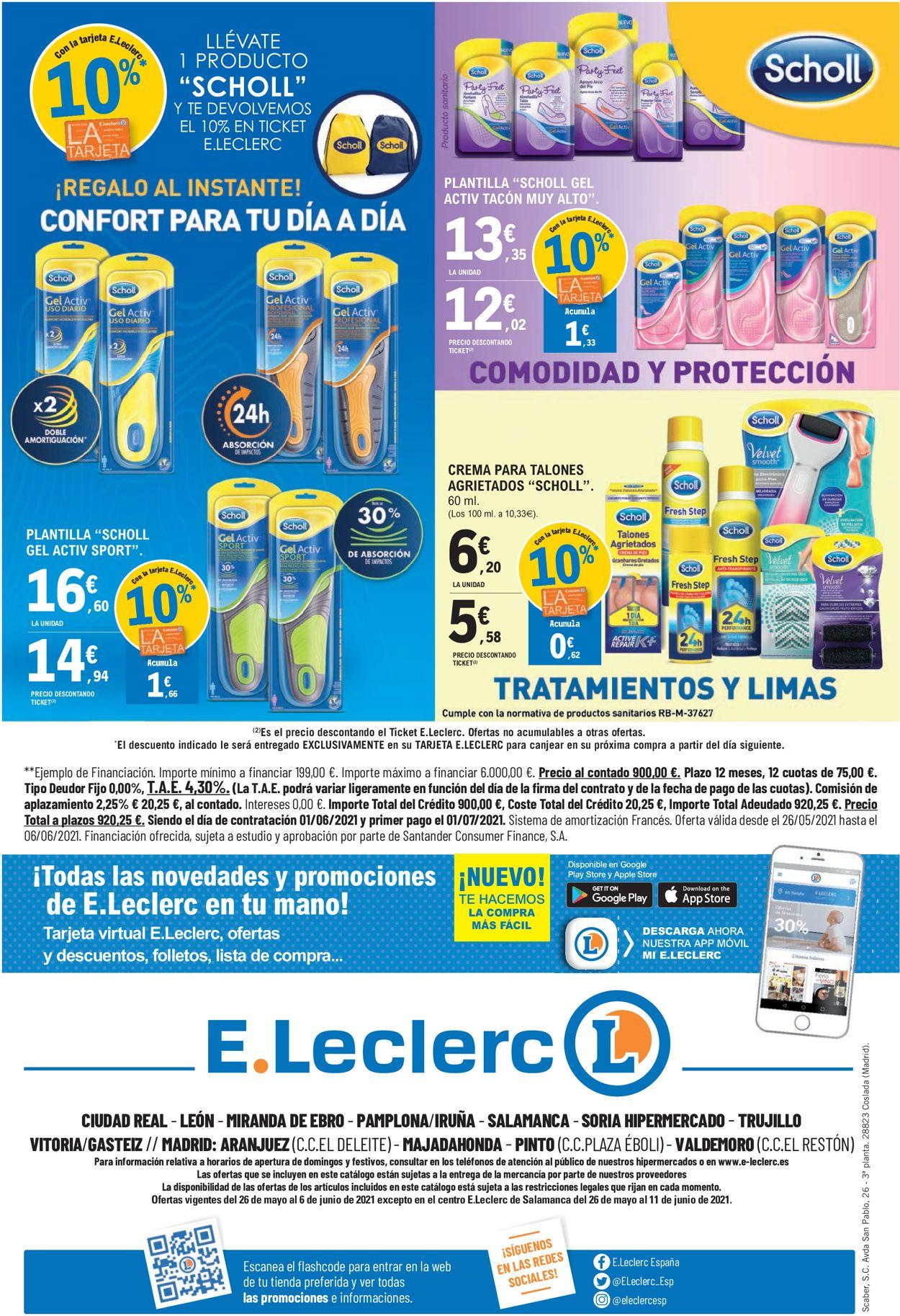 E.leclerc Folleto - 26.05-06.06.2021 (Página 32)