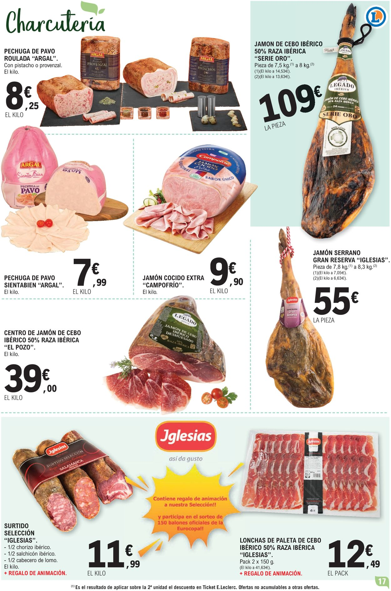 E.leclerc Folleto - 09.06-20.06.2021 (Página 17)