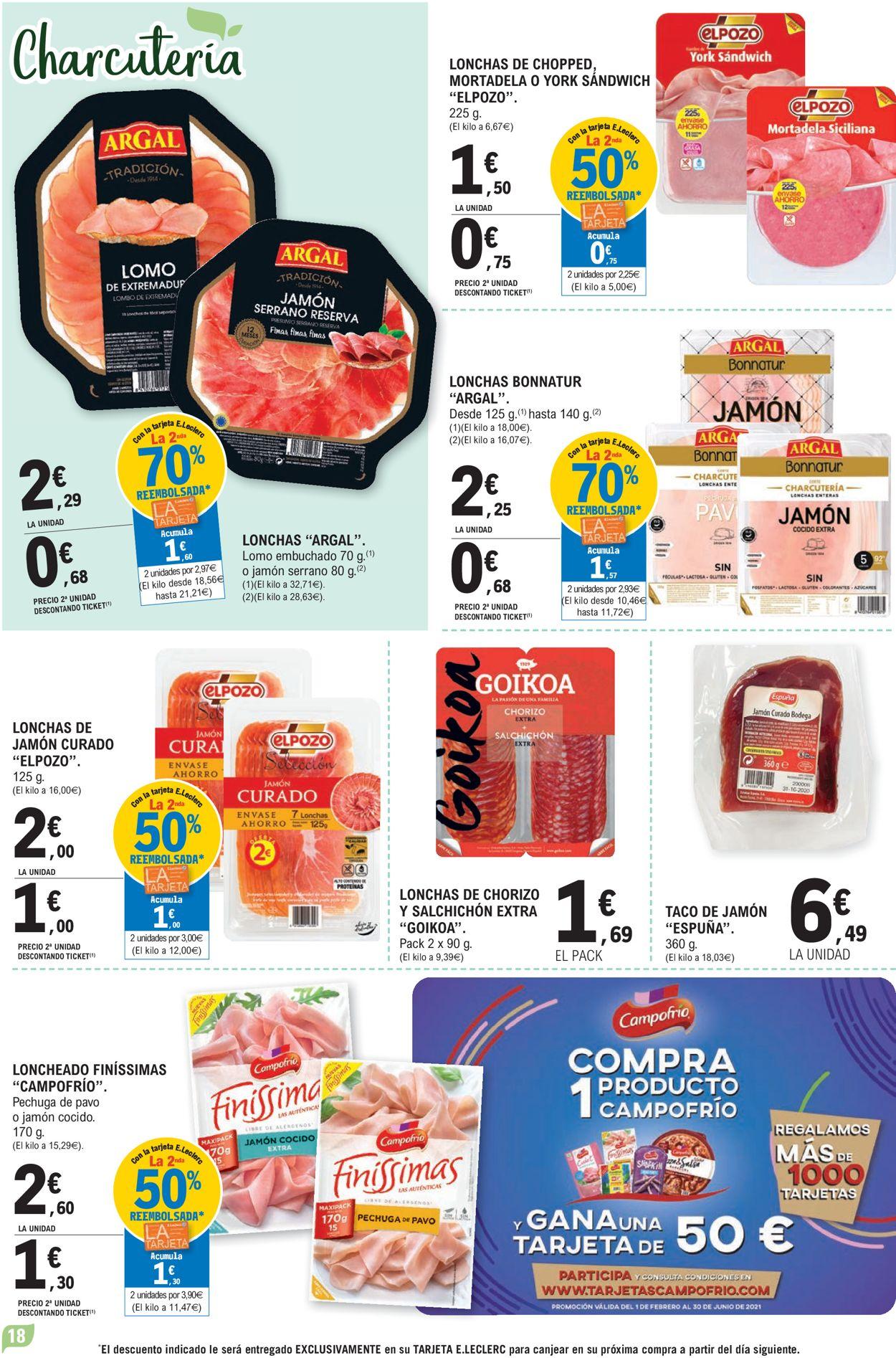 E.leclerc Folleto - 09.06-20.06.2021 (Página 18)
