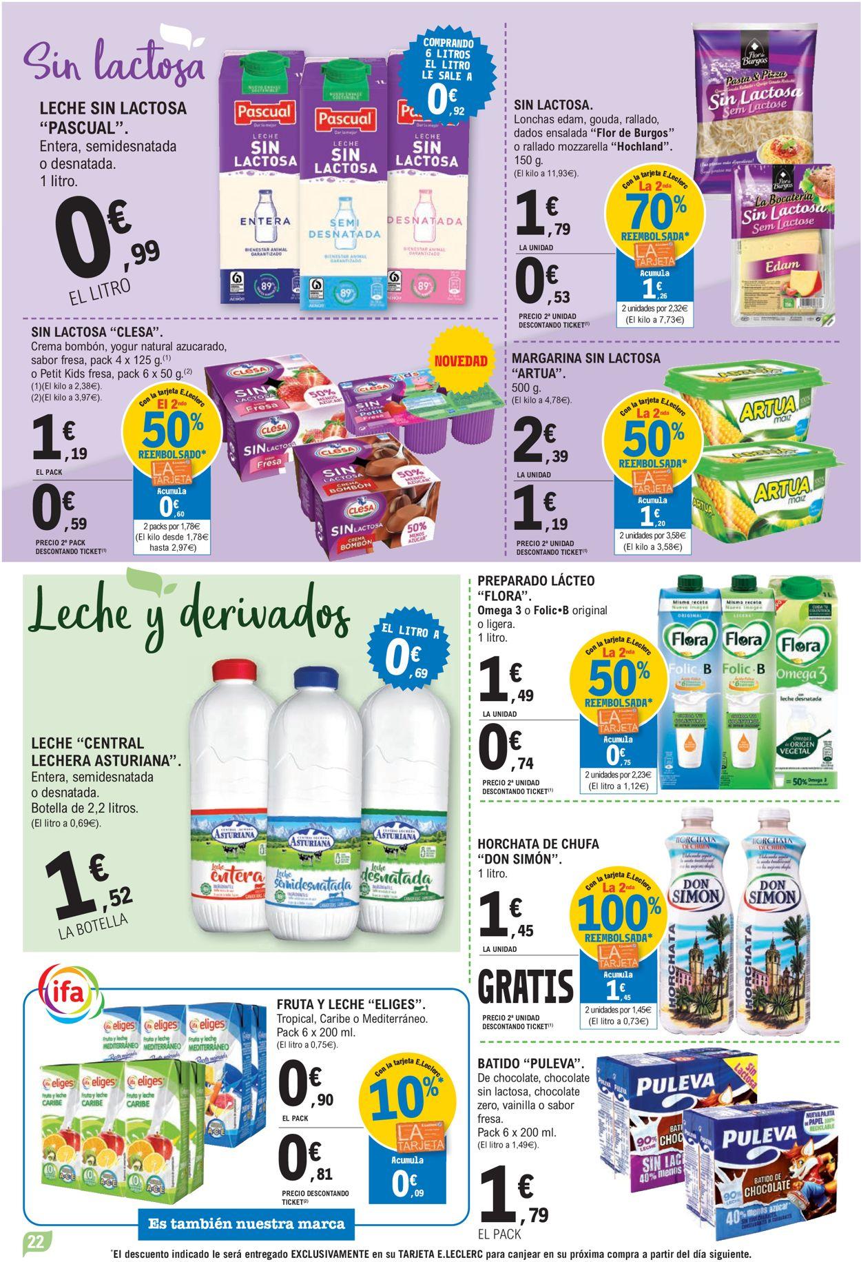 E.leclerc Folleto - 07.07-18.07.2021 (Página 22)
