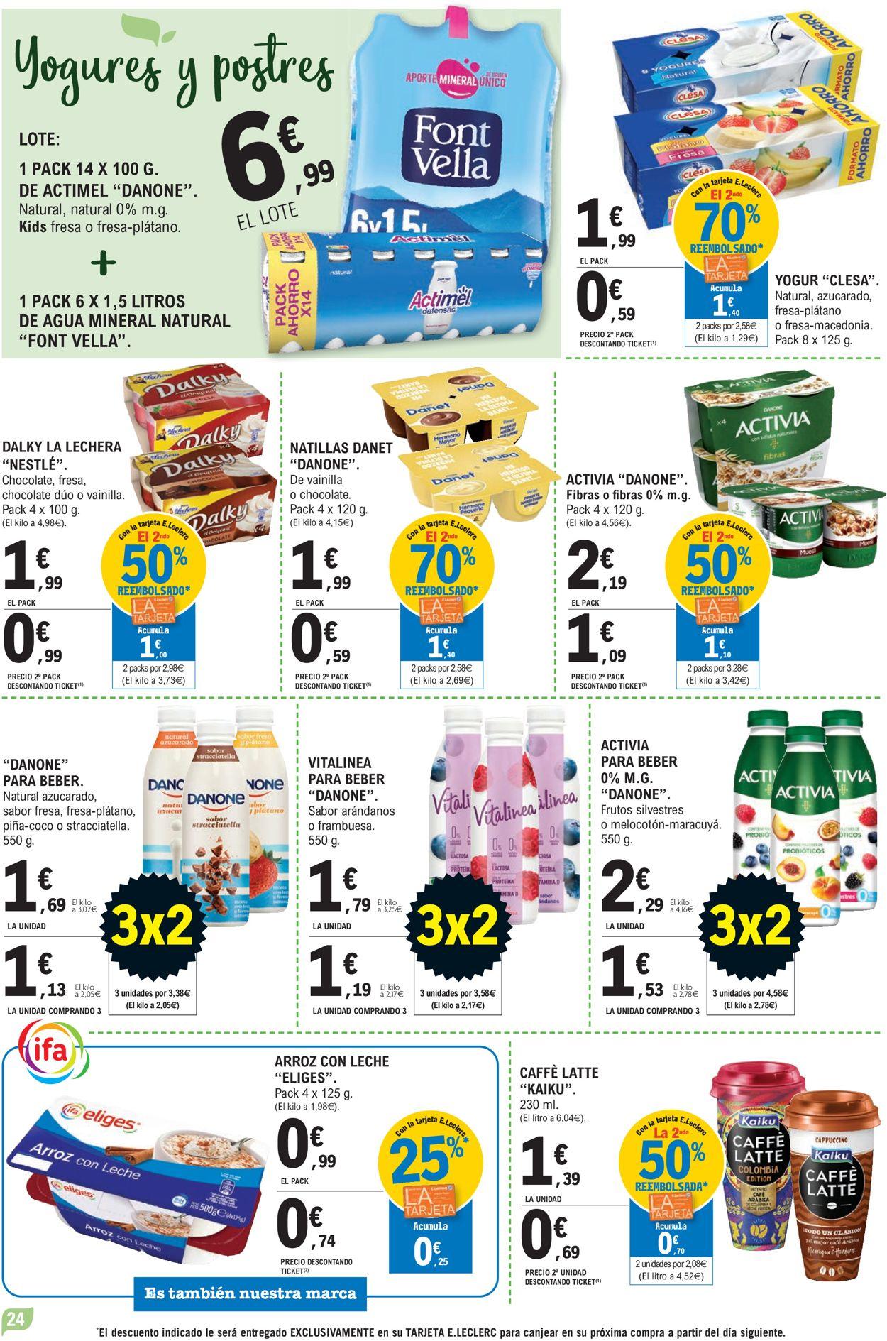E.leclerc Folleto - 07.07-18.07.2021 (Página 24)
