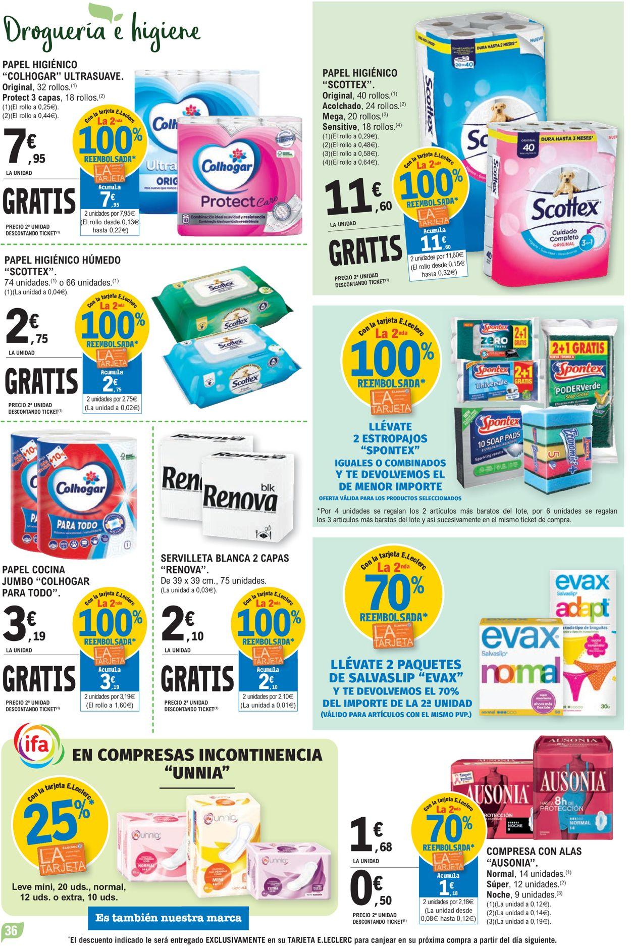 E.leclerc Folleto - 07.07-18.07.2021 (Página 36)