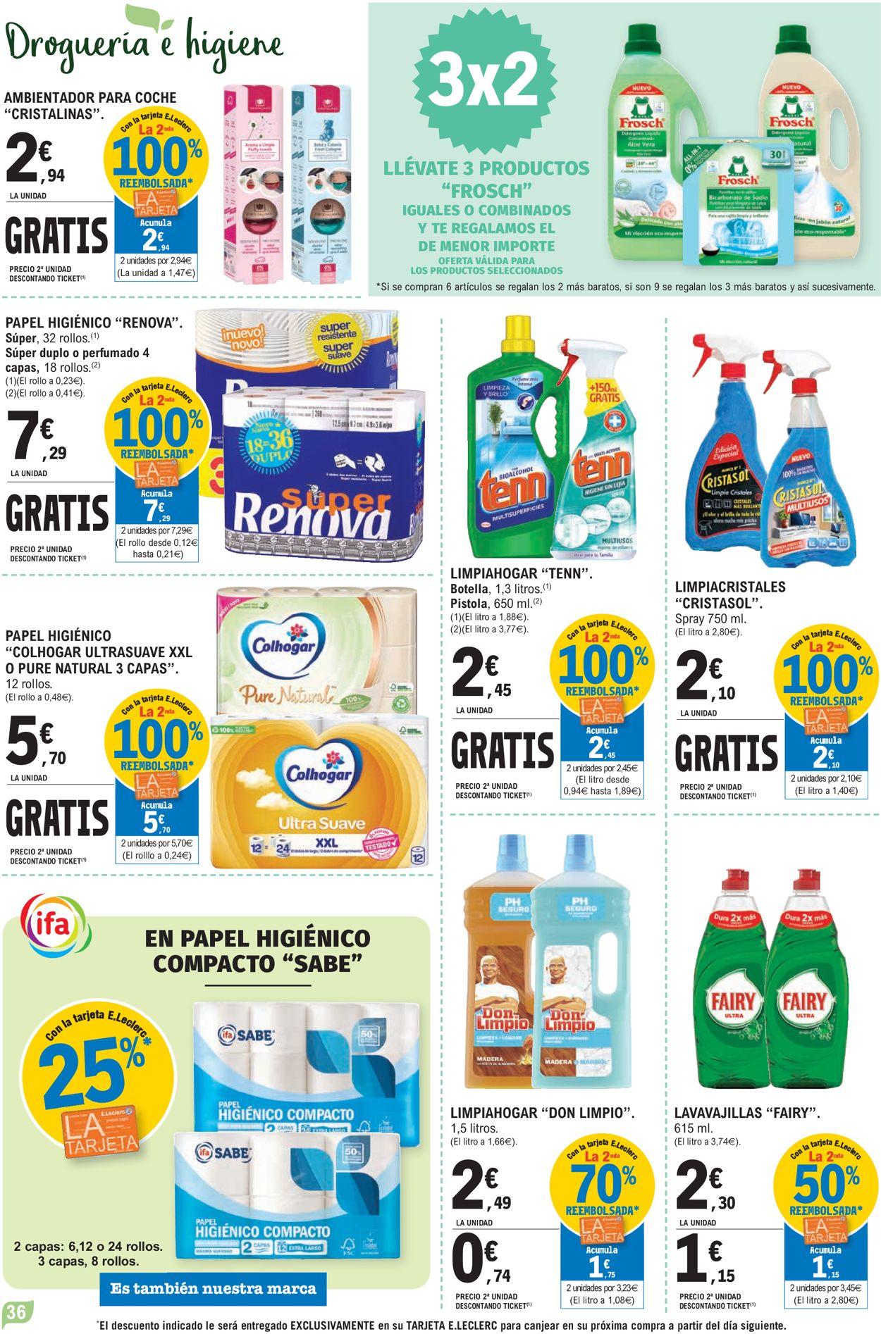 E.leclerc Folleto - 21.07-01.08.2021 (Página 36)
