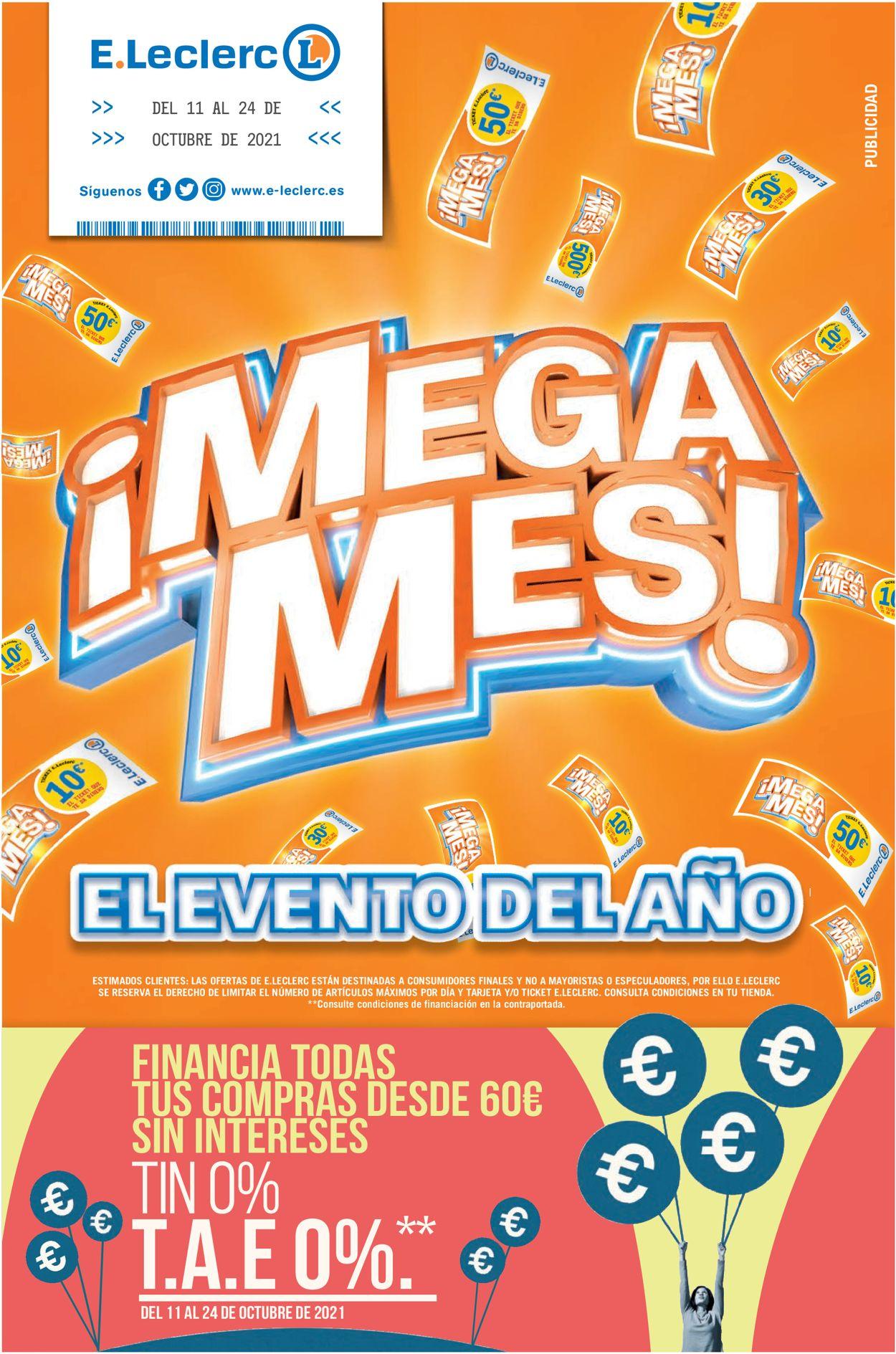 E.leclerc Folleto - 11.10-24.10.2021