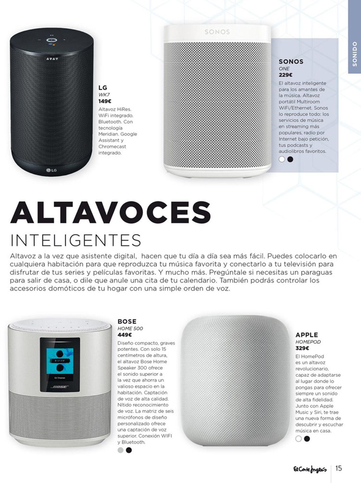 El Corte Inglés Catálogo Navideño 19/20 Folleto - 01.12-31.12.2019 (Página 15)