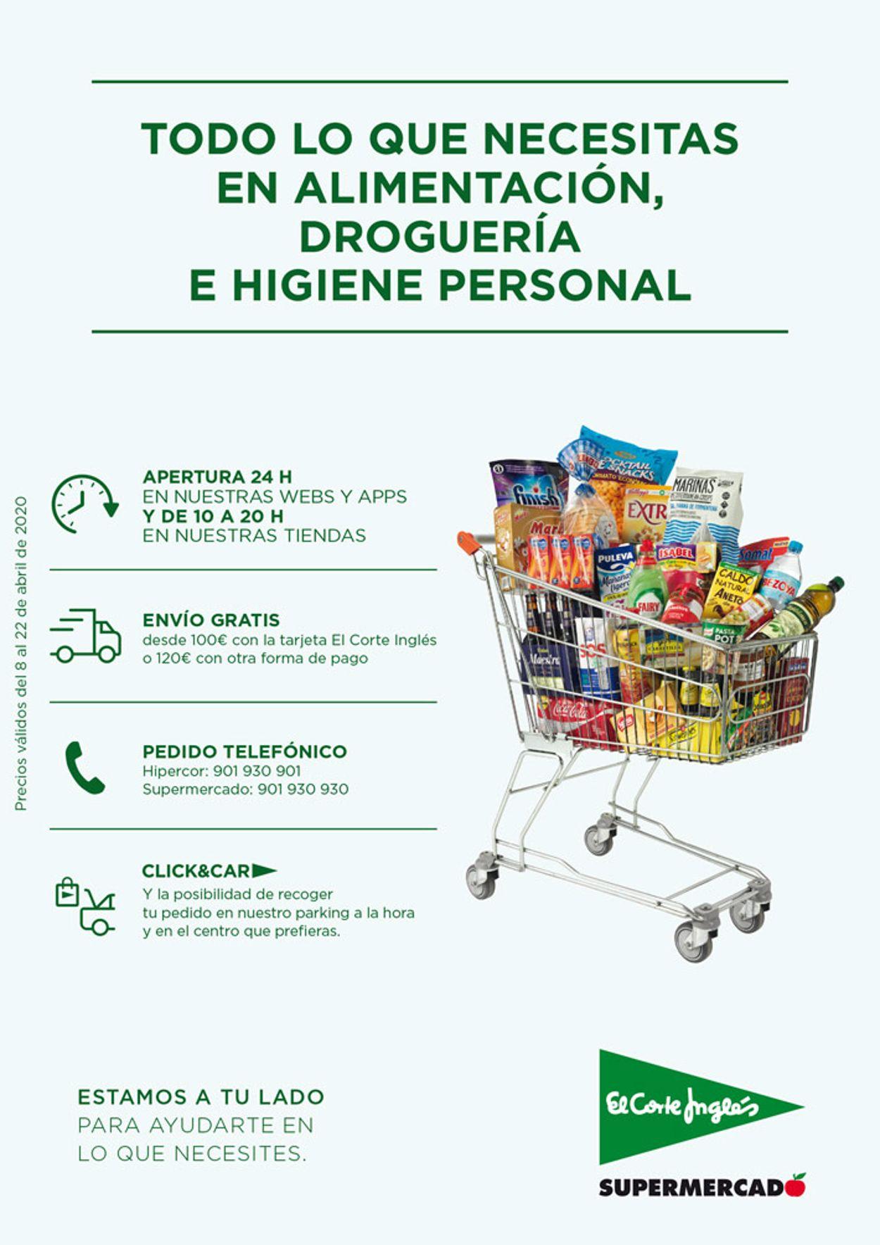 El Corte Inglés Folleto - 08.04-22.04.2020