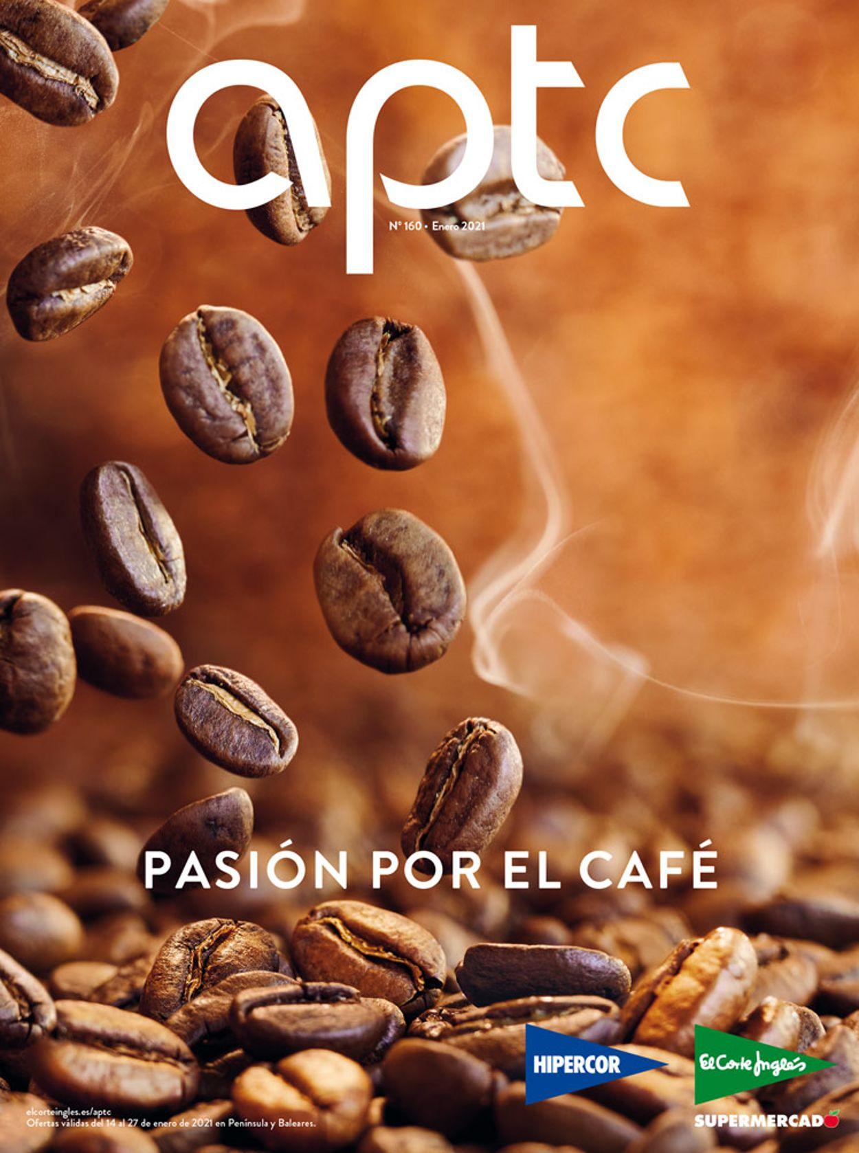 El Corte Inglés Cafe 2021 Folleto - 14.01-31.01.2021