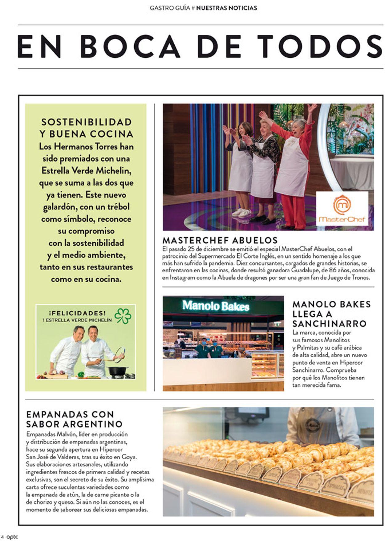 El Corte Inglés Cafe 2021 Folleto - 14.01-31.01.2021 (Página 4)