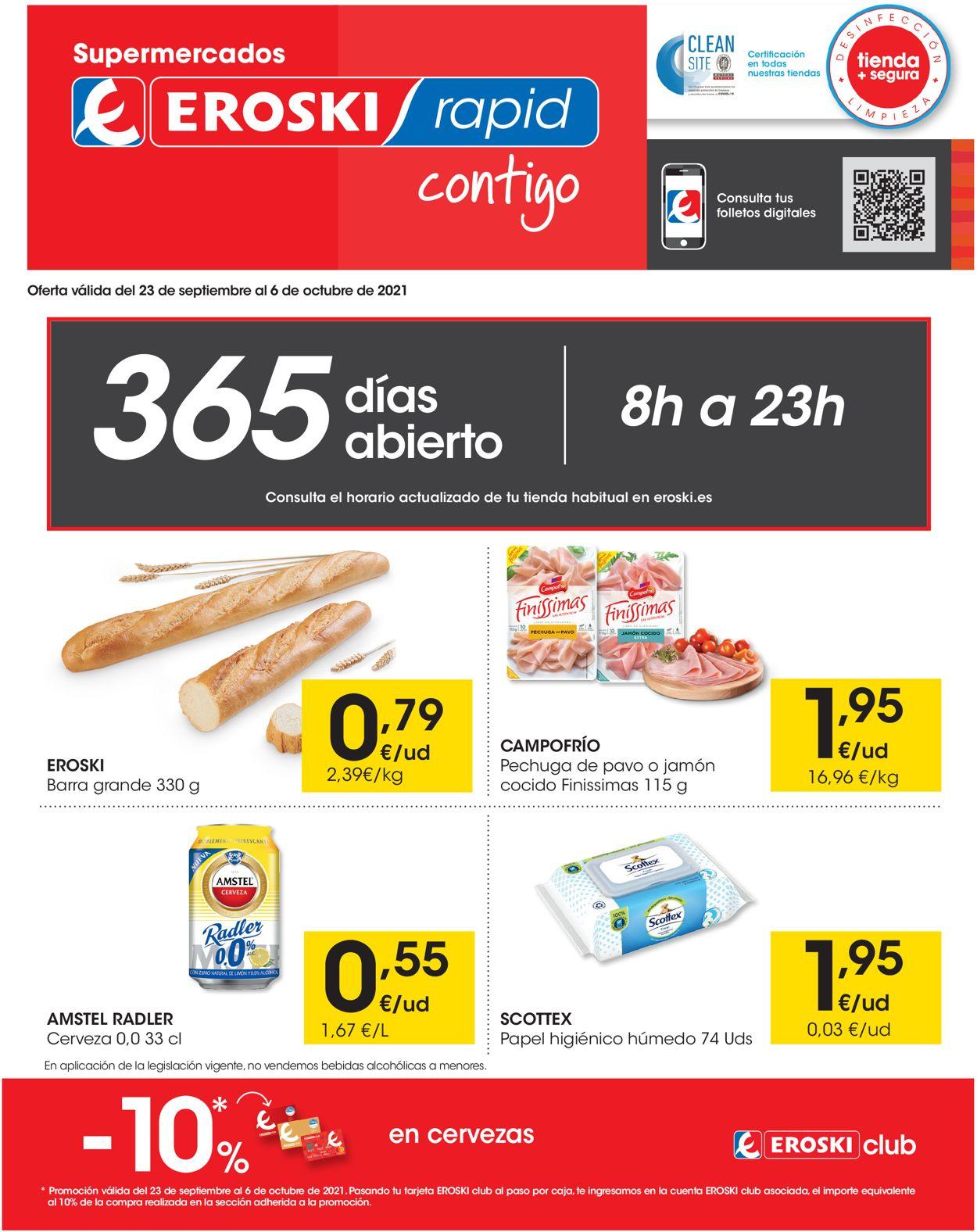 Eroski Folleto - 26.09-06.10.2021