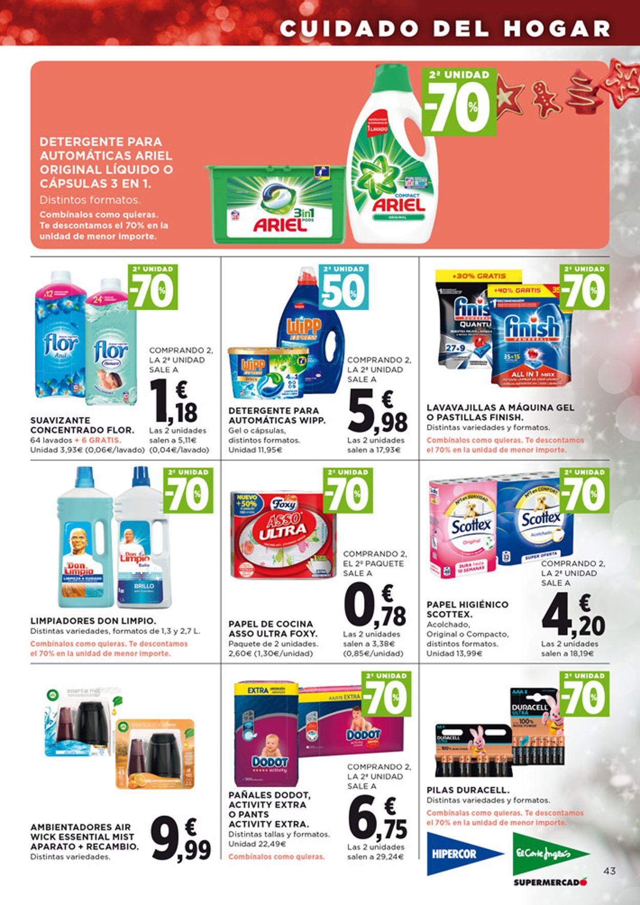 Hipercor Folleto - 28.11-11.12.2019 (Página 45)