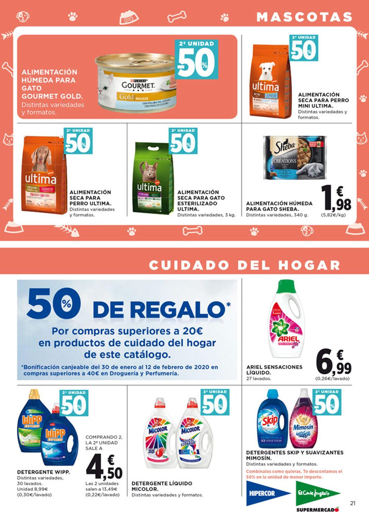 Hipercor Folleto - 16.01-29.01.2020 (Página 23)