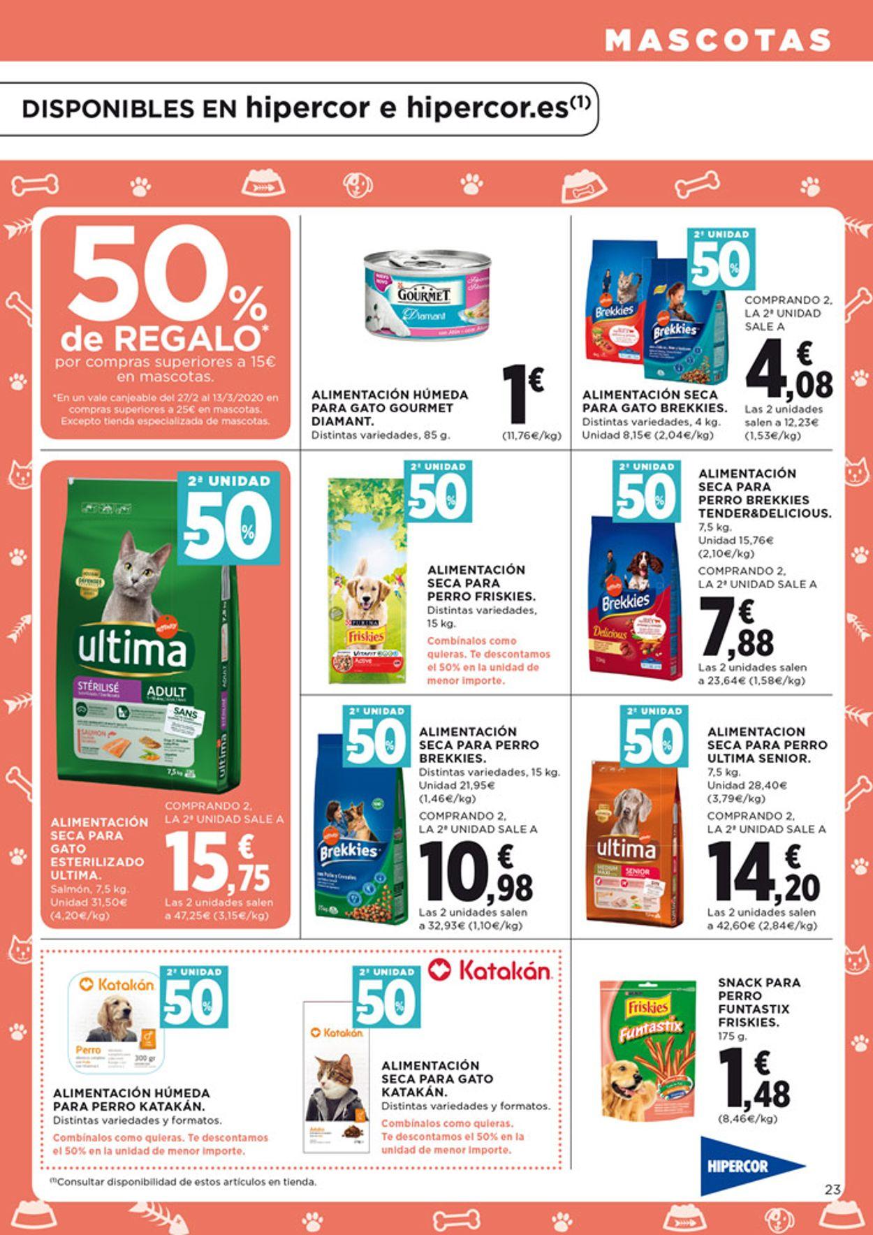 Hipercor Folleto - 13.02-26.02.2020 (Página 25)
