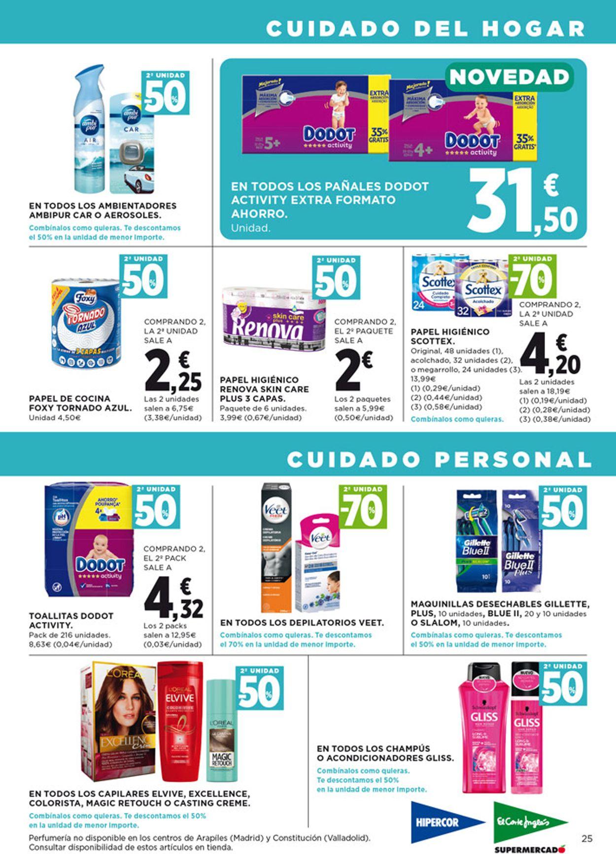 Hipercor Folleto - 08.04-22.04.2020 (Página 25)