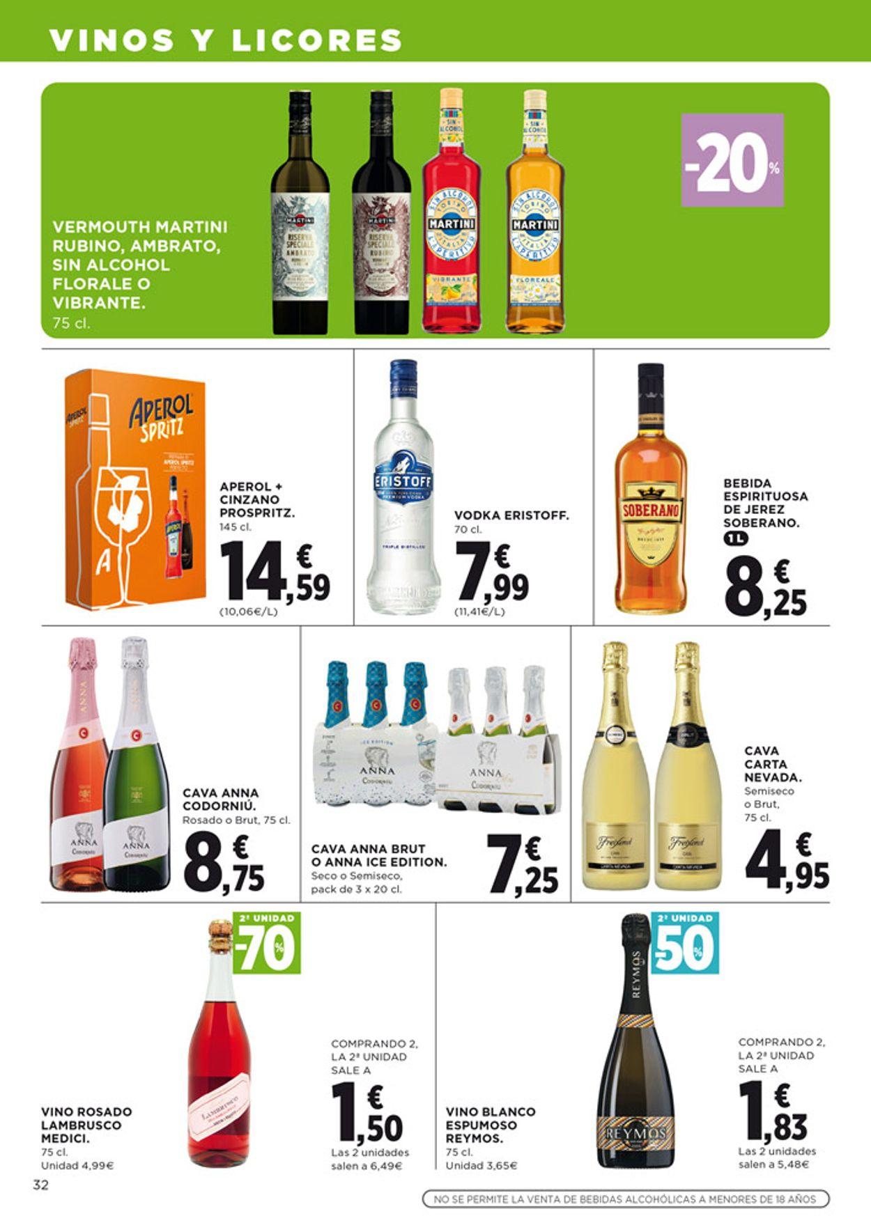 Hipercor Folleto - 04.06-17.06.2020 (Página 32)