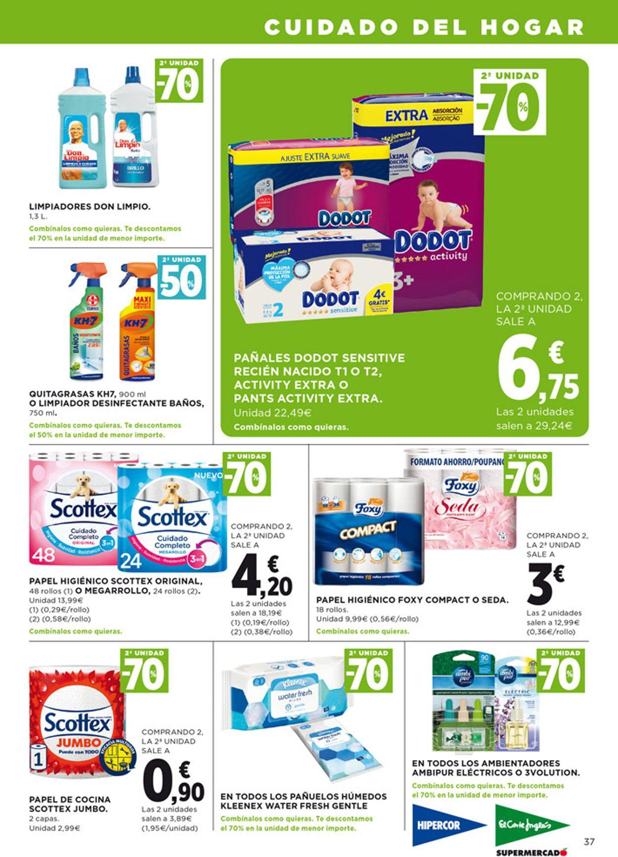 Hipercor Folleto - 04.06-17.06.2020 (Página 37)