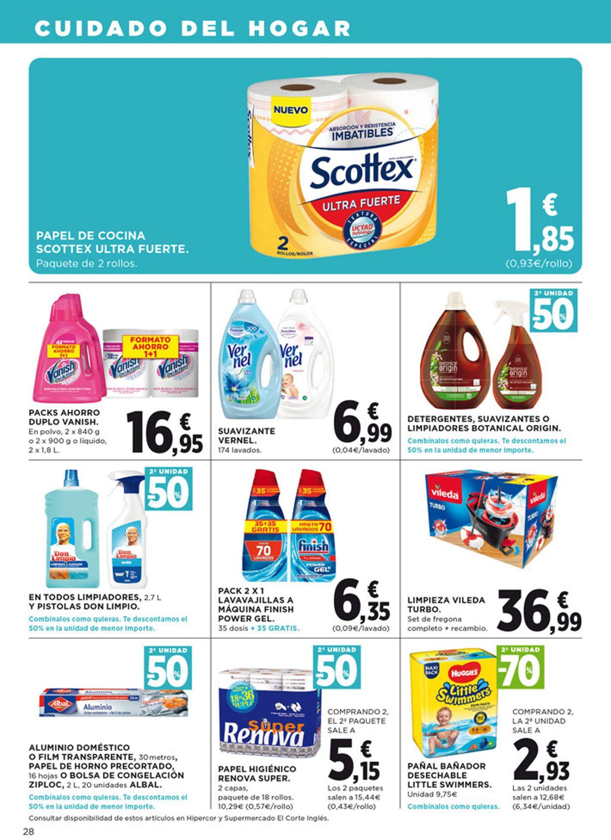 Hipercor Folleto - 18.06-01.07.2020 (Página 28)