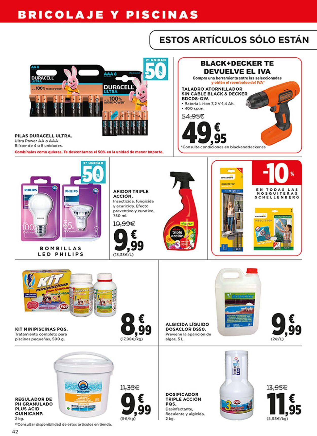 Hipercor Folleto - 02.07-15.07.2020 (Página 42)
