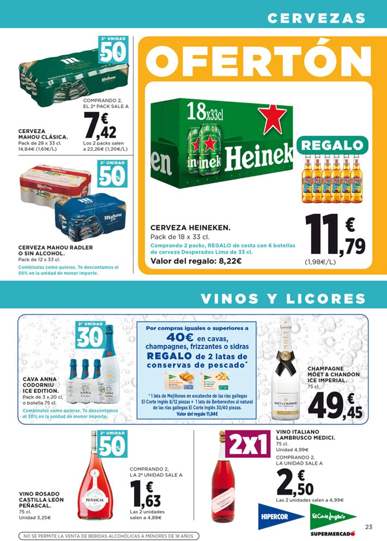 Hipercor Folleto - 30.07-12.08.2020 (Página 23)