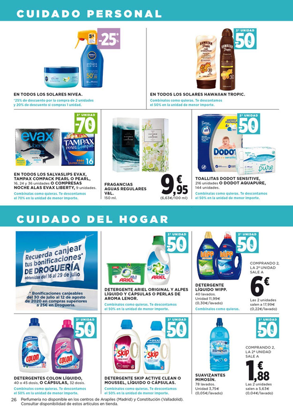 Hipercor Folleto - 30.07-12.08.2020 (Página 26)