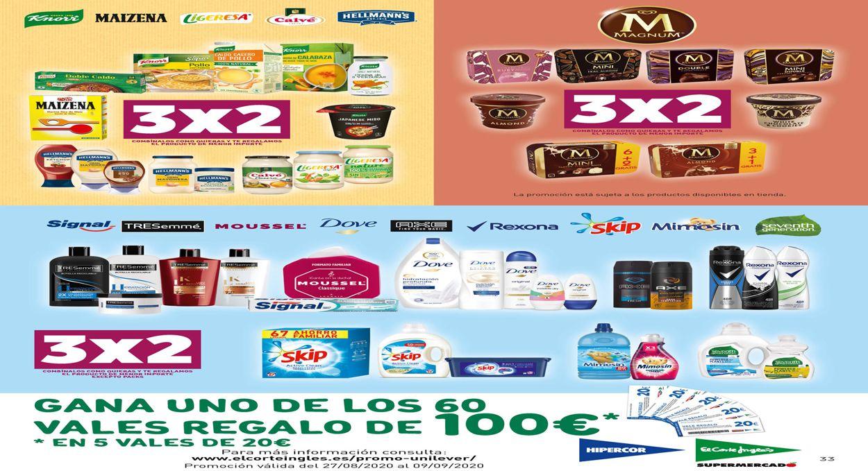 Hipercor Folleto - 27.08-09.09.2020 (Página 33)