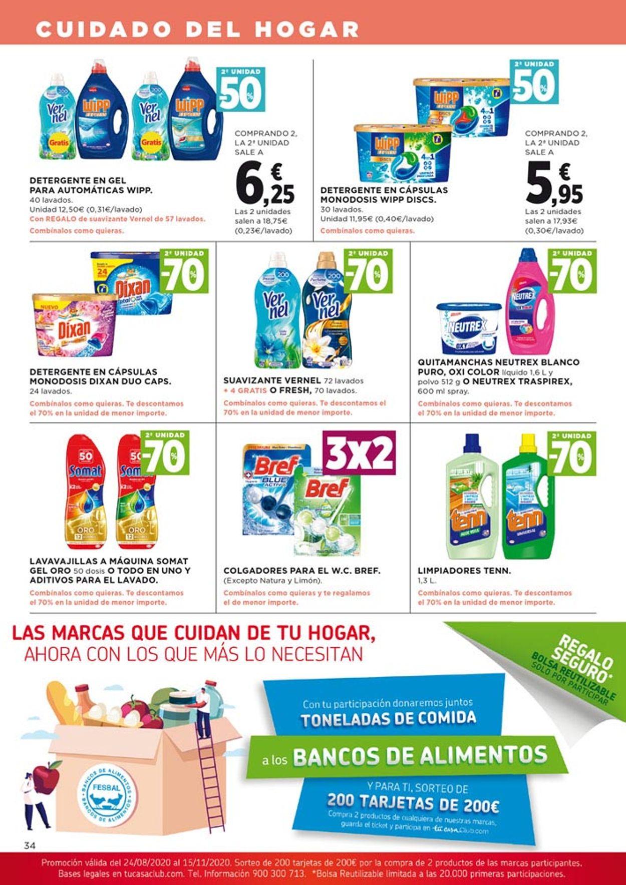 Hipercor Folleto - 27.08-09.09.2020 (Página 34)