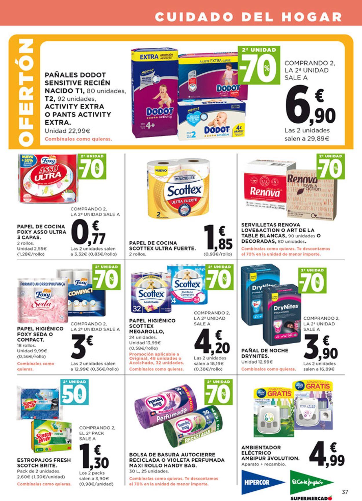 Hipercor Folleto - 27.08-09.09.2020 (Página 37)