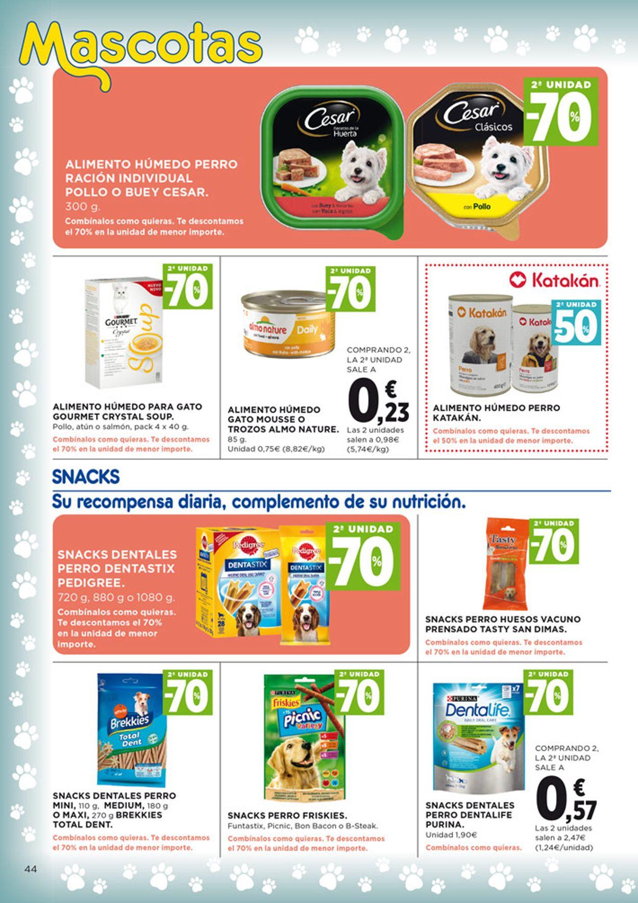 Hipercor Folleto - 27.08-09.09.2020 (Página 44)