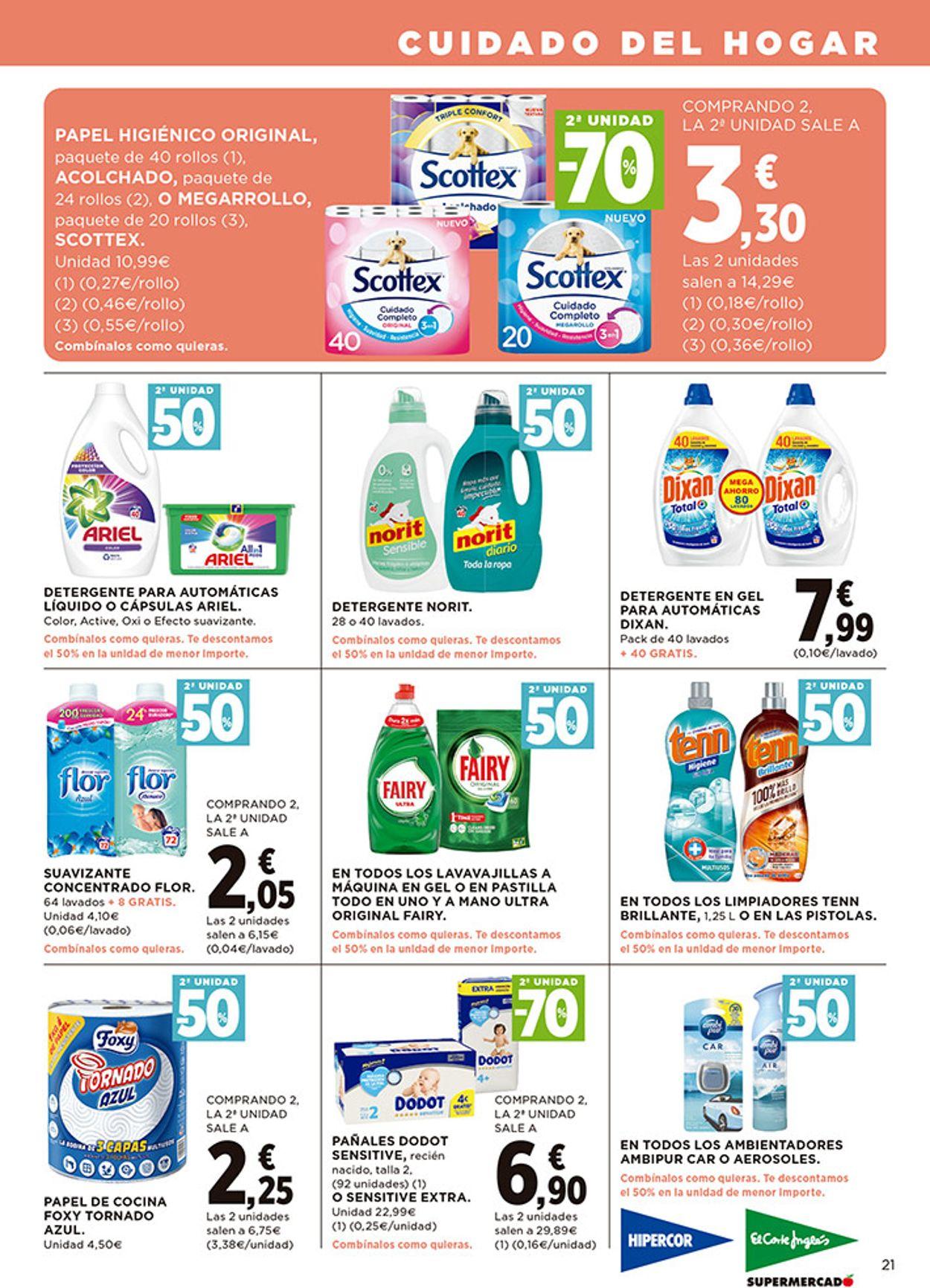 Hipercor Folleto - 10.09-23.09.2020 (Página 21)
