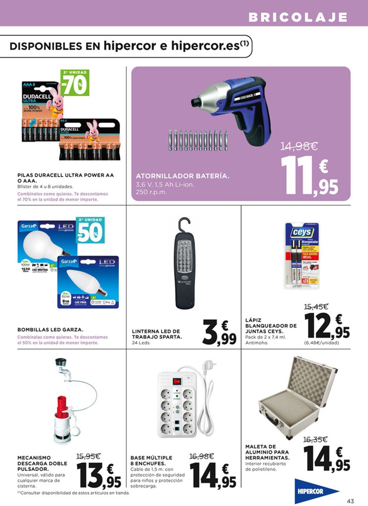 Hipercor Folleto - 24.09-07.10.2020 (Página 43)