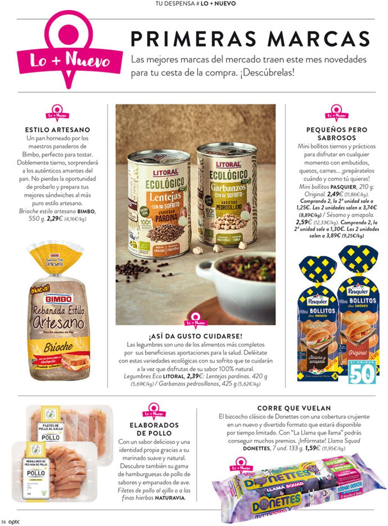 Hipercor Folleto - 08.10-21.10.2020 (Página 74)