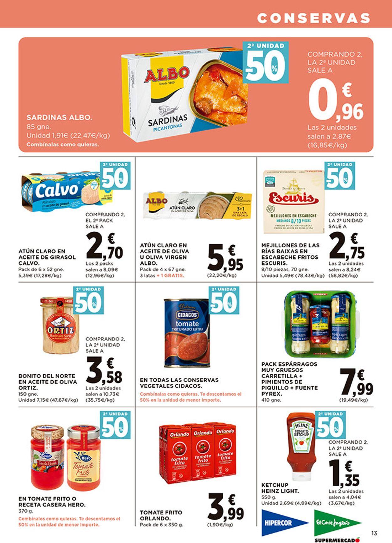 Hipercor Folleto - 08.10-21.10.2020 (Página 13)