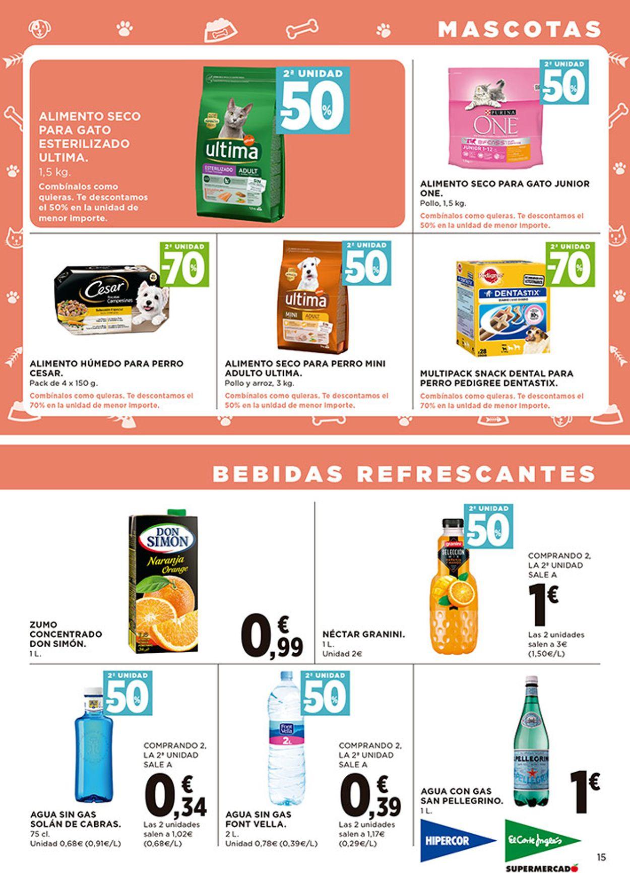 Hipercor Folleto - 08.10-21.10.2020 (Página 15)