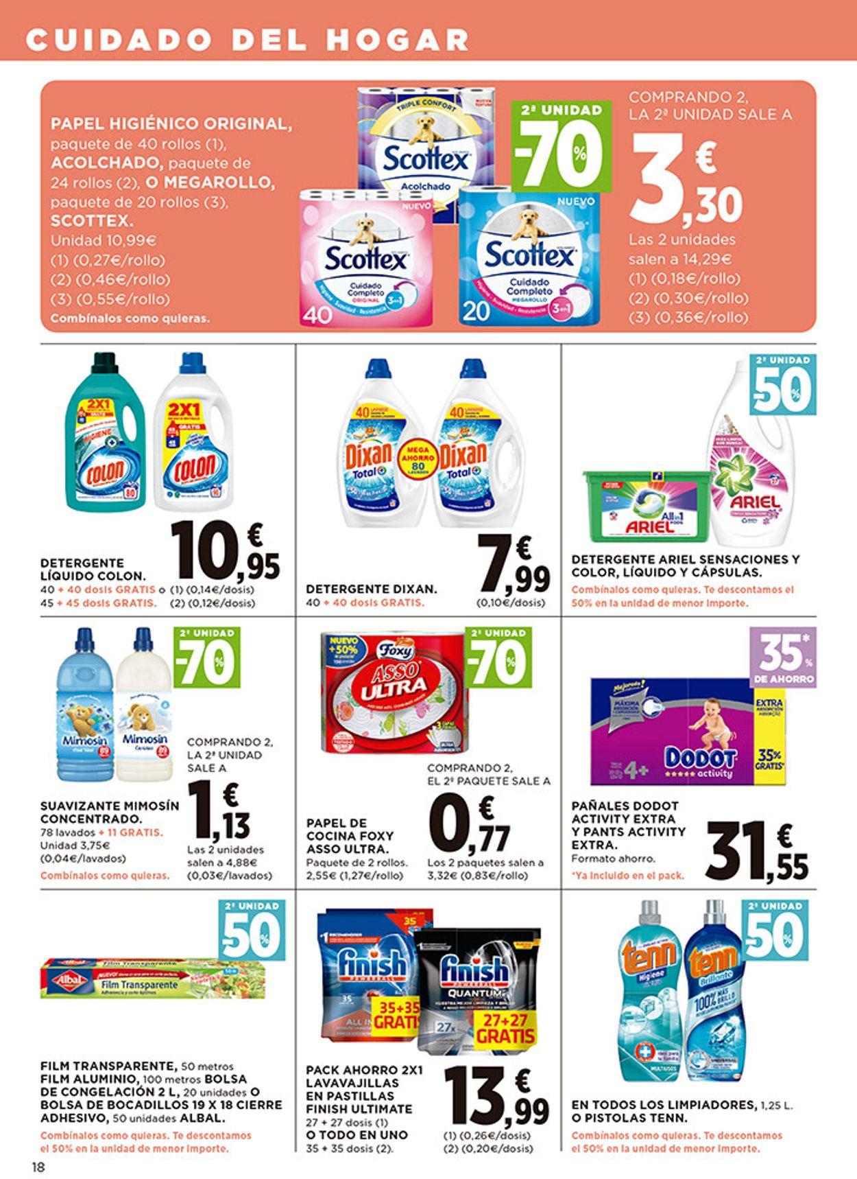 Hipercor Folleto - 08.10-21.10.2020 (Página 18)