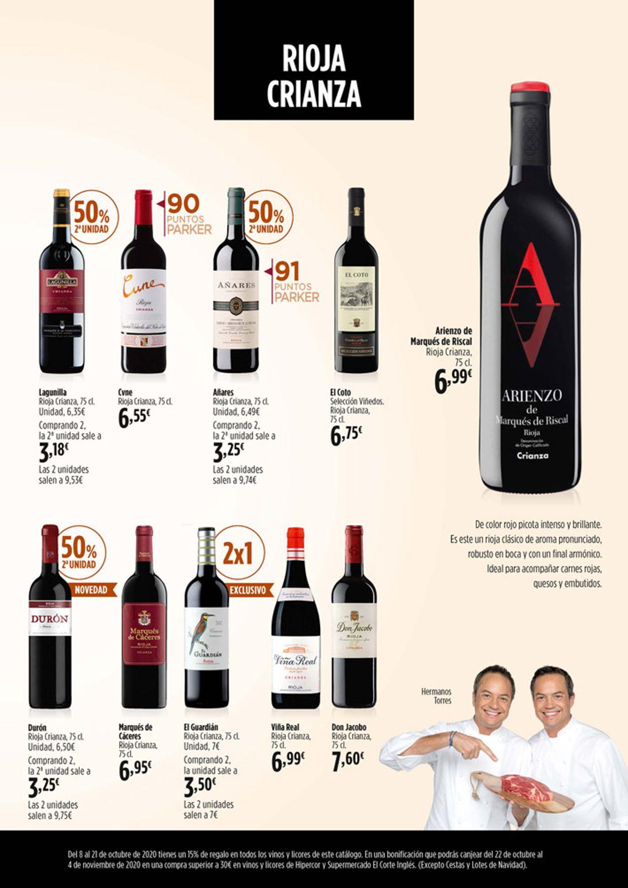 Hipercor Folleto - 08.10-21.10.2020 (Página 5)